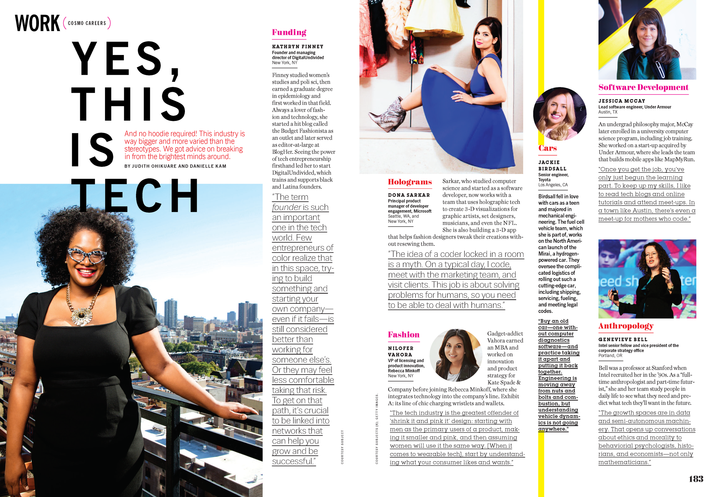 """15 Women Who Are Totally Dominating the Tech Industry"""