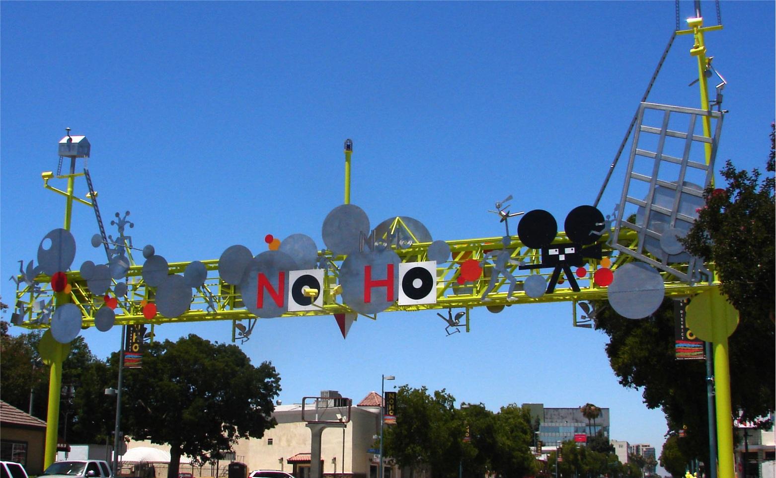 NOHO Sign