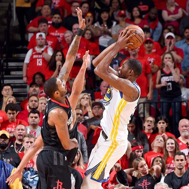KD had 213 points that series, the most points in a West Finals series in NBA history.