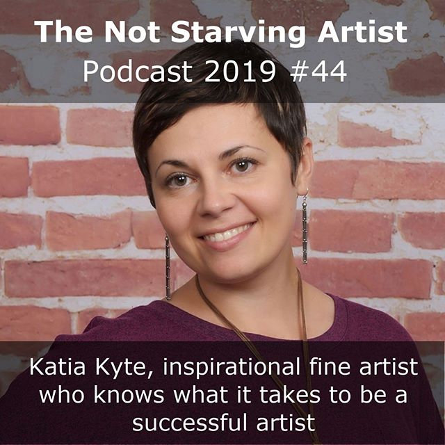 The lovely Katia Kyte is this week's guest on The Not Starving Artist Podcast. She's a strong and inspirational woman, who found her way from the possibility of med school in Russia to fine arts in America. Through a process of self development and taking classes and lots of self learning, she's now a gallery represented artist who lives from her art. Listen to Katia's great interview here: www.angienoll.com. Please share the podcast (or this post) so that other artists can find it as well;-) . . . . . . . . . . . #oilpainting #oilpaintings #oilpaint #oilpaintingart #oilpaintersofamerica #oilpainters #oilpainter #oilpaintersofinstagram #watercolourpaintings #watercolourartist #watercolorpainting #thenotstarvingartist #creativeentrepreneur #creativeentrepreneurs #successfulwomen #successfull #successfulartist #singlemom #singlemoms #inspirationalartist #creativemamy #russianartist #americanartist #flowerart #dailyart #femaleartist @katiakyte