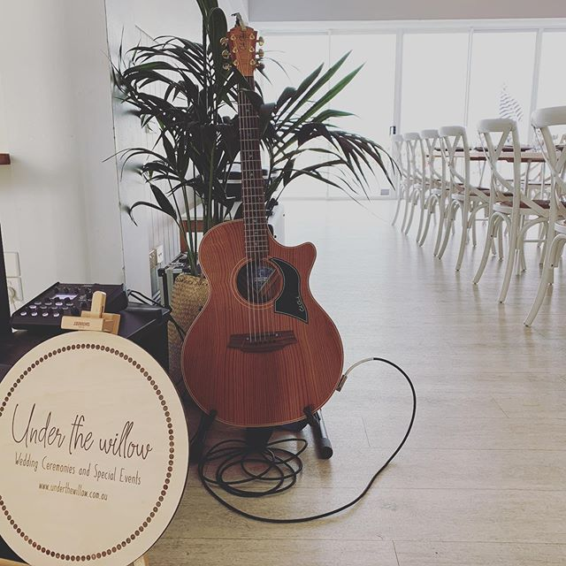 What a joy it was to play at this stunning venue yesterday for the delightful Gemma and Andrew. A gorgeous selection of music made by this couple and we enjoyed every minute of performing their special songs for them. @pier33mooloolaba 🎉🎊💕