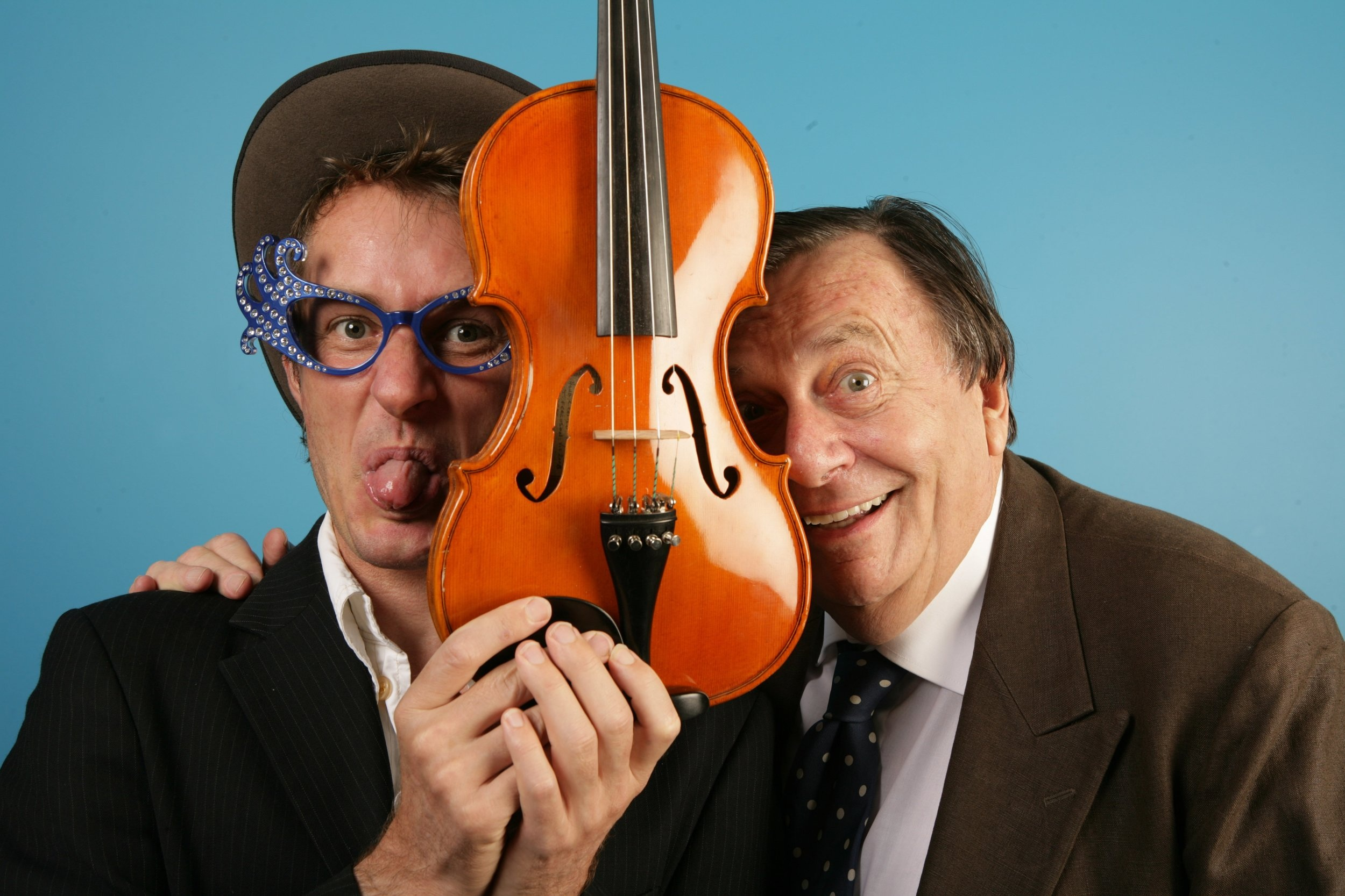 barry humphries and richard tognetti