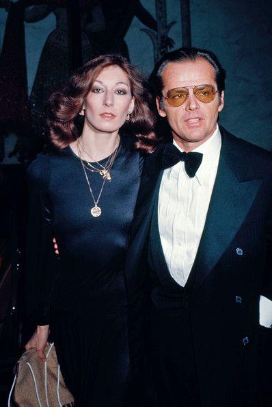 Jack Nicholson + Anjelic Huston 1973