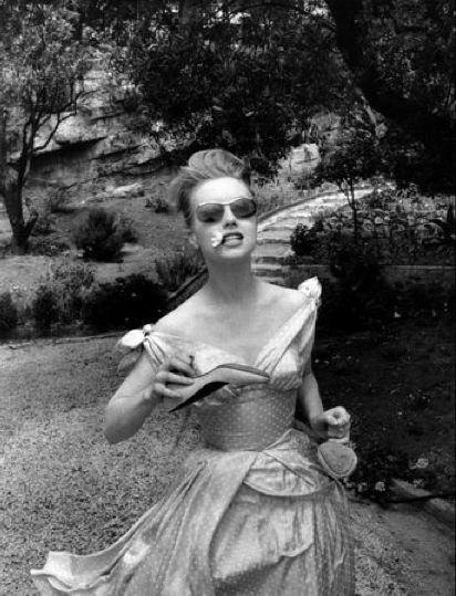 Georges Dudognon, Myléne Demongeot on the Cote d`Azur, 1957