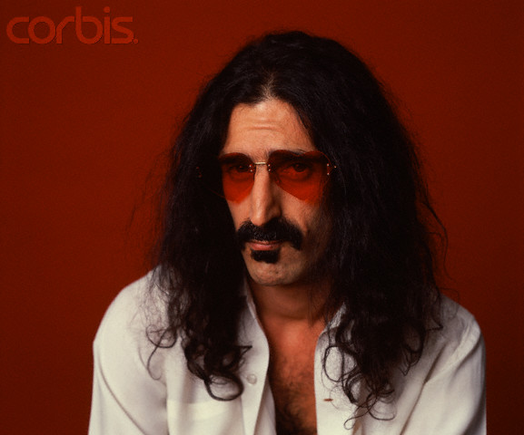 Frank Zappa in Heart-Shaped Glasses