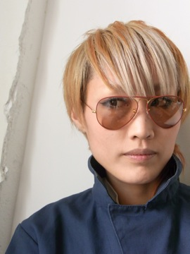 RayBan[METAL FLYING COLORS Red on Gold/Changeable Grey]