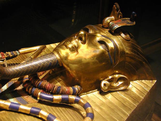 Egyptgoldmask