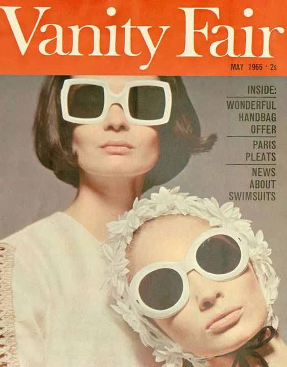 Oliver Goldsmith sunglasses on Vanity Fair- 1965.jpg