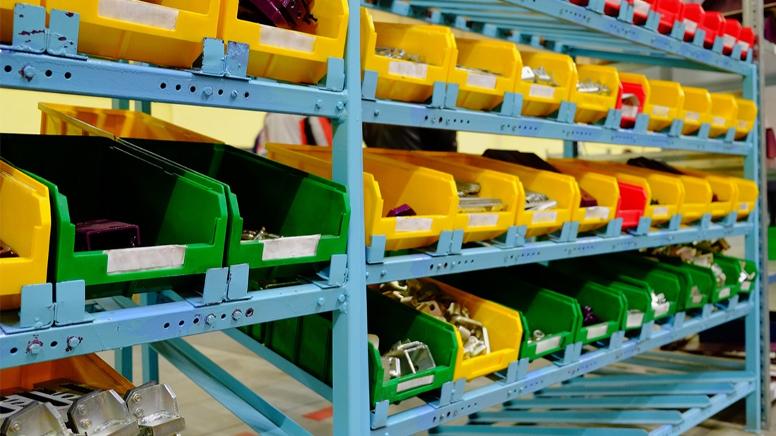 Future model for Darkstore.  The pick and pack method system of preparing and shipping entire cases and pallets of goods, relies on workers who pull (pick) individual items from master cartons on warehouse shelves.