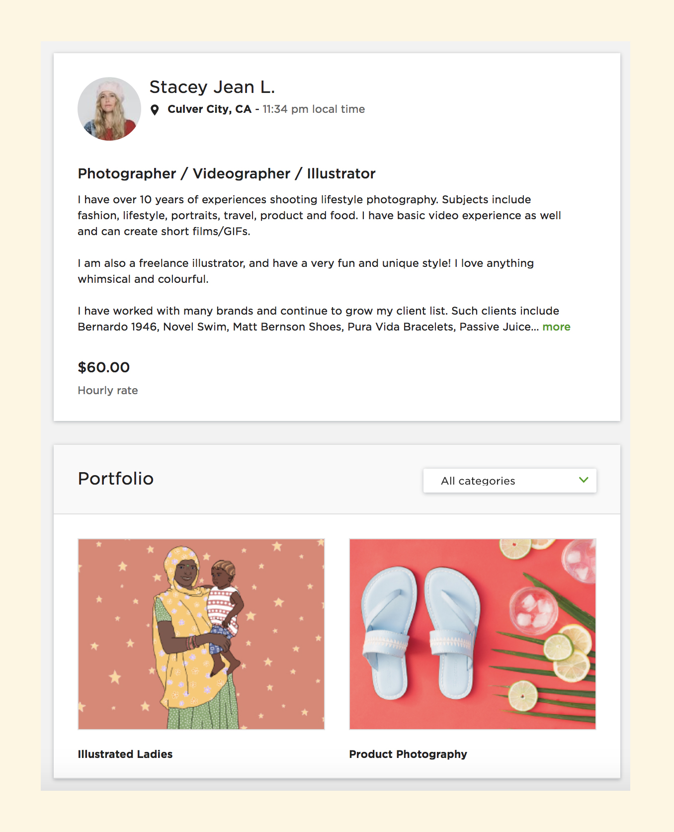 Upwork-Profile-Stacey-Lamb-Freelance-Illustrator-Photographer