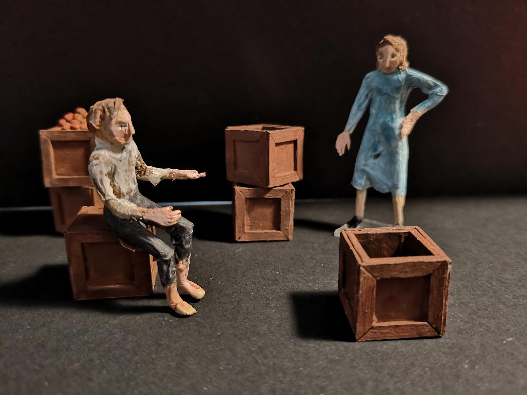 Wooden boxes with Maggie & Tom.jpg