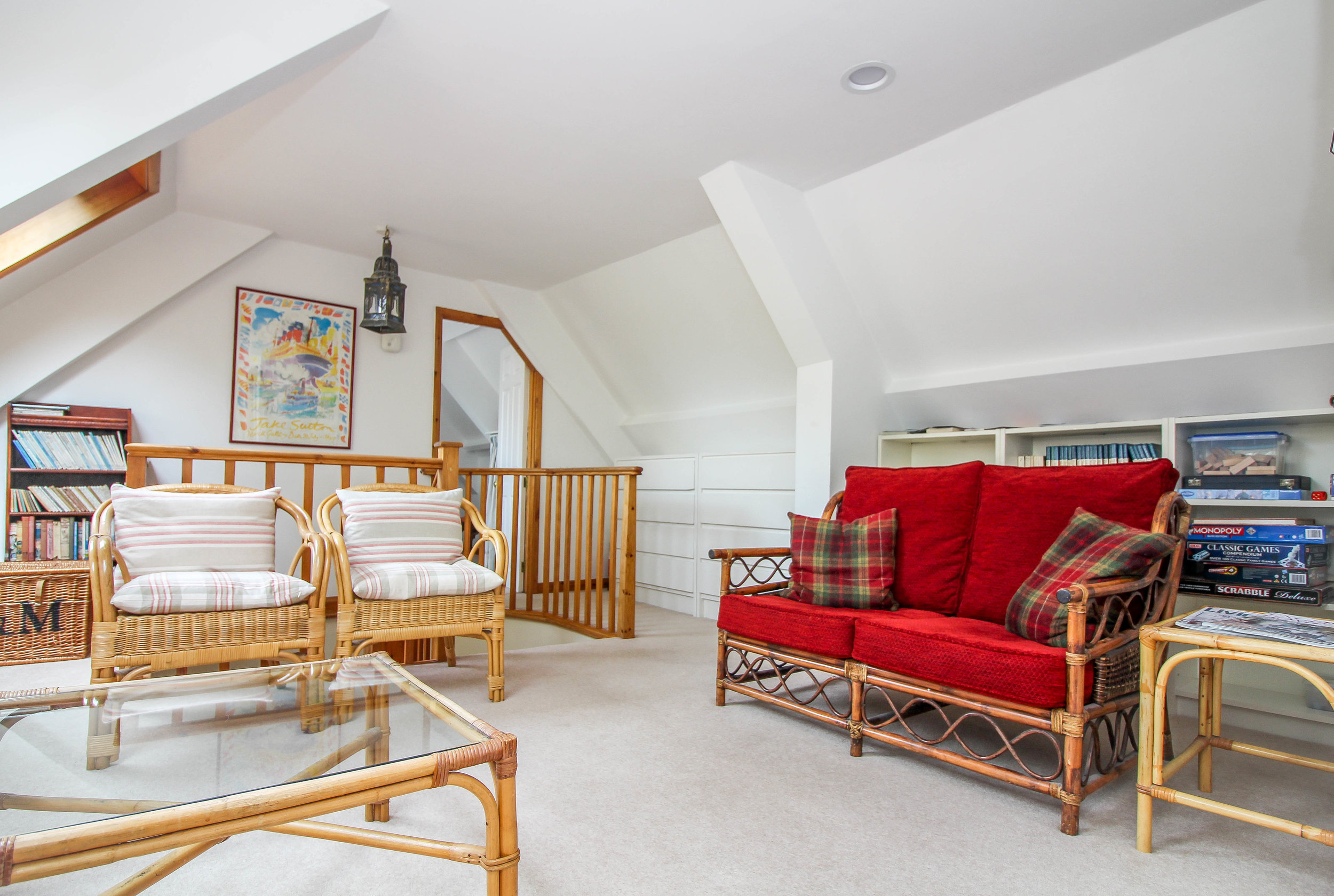 The Family Suite sitting room