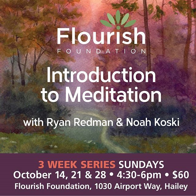Join us for our upcoming Flourish U offering . AN INTRODUCTION TO MEDITATION .  Just as scientific research has proven that physical exercise is imperative to our physical well-being, the research has also shown that meditation is essential for our mental well-being. . For thousands of years people have used the practice of meditation to develop relaxation, focus and clarity, for managing difficult emotions such as fear and anger, and to cultivate positive qualities of mind such as kindness and compassion for themselves and others. . Explore strategies for: *How to begin a meditative practice *How to develop relaxation *How to settle the mind in the present moment *How to harvest joy in everyday life . To register please follow LINK IN BIO! #transformthemind #inspirechange