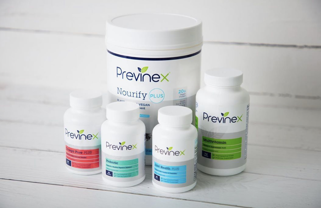 Previnex, the most effective supplements you've ever taken! - Products and Programs designed for your longevity, performance, and every day health! We offer 15% for new orders! Visit our nutrition counter and order yours today!15% off Promo code:Limitless15Click below to order now!