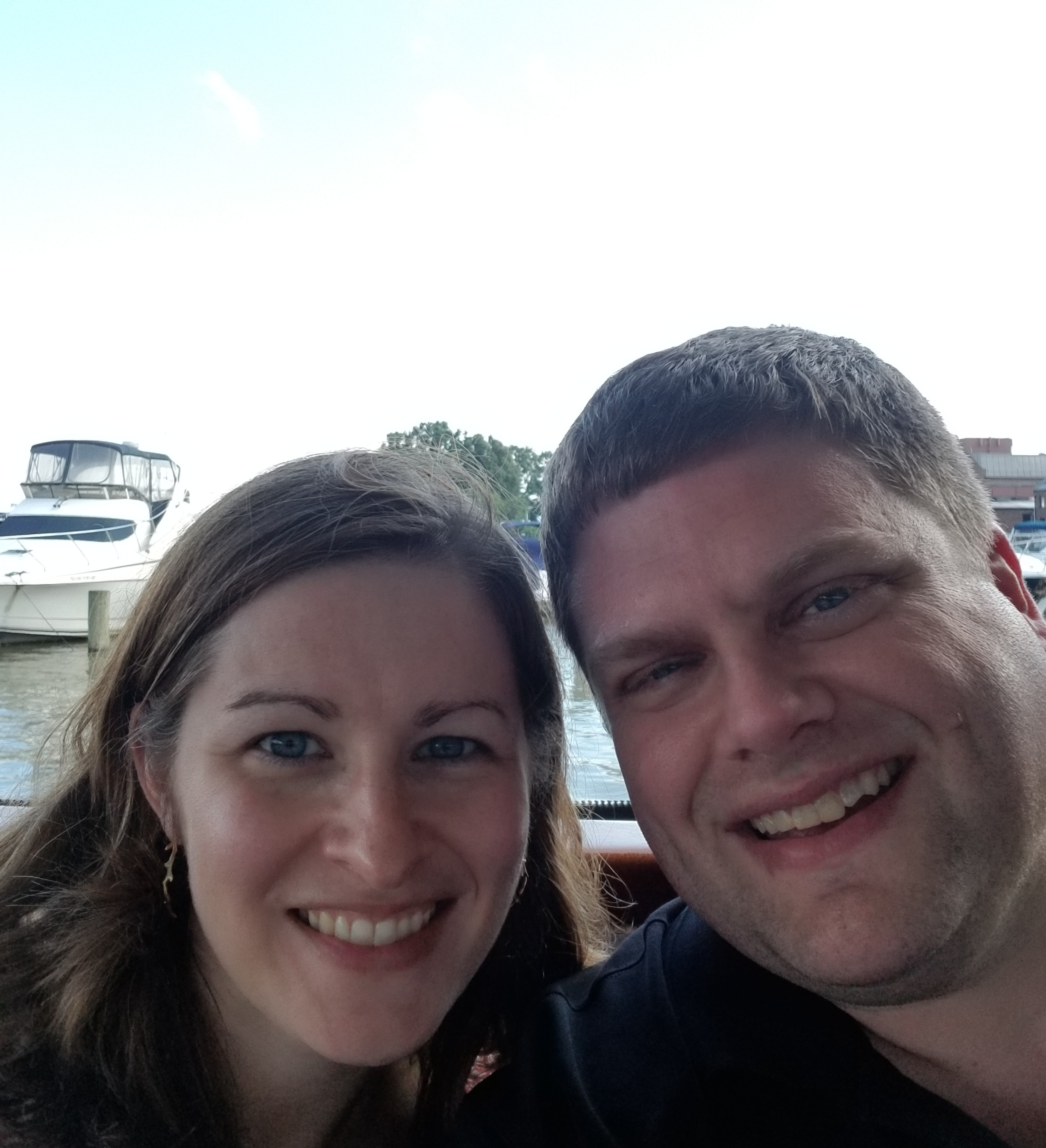 Jason and his wife Diane enjoy a Summer afternoon cruising on the Potomac.