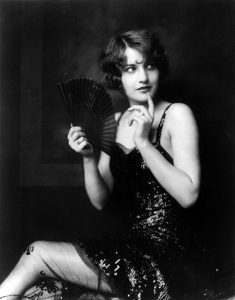 "An early Ziegfeld ""Girl"" prior to becoming truly famous. Can you identify the individual?"