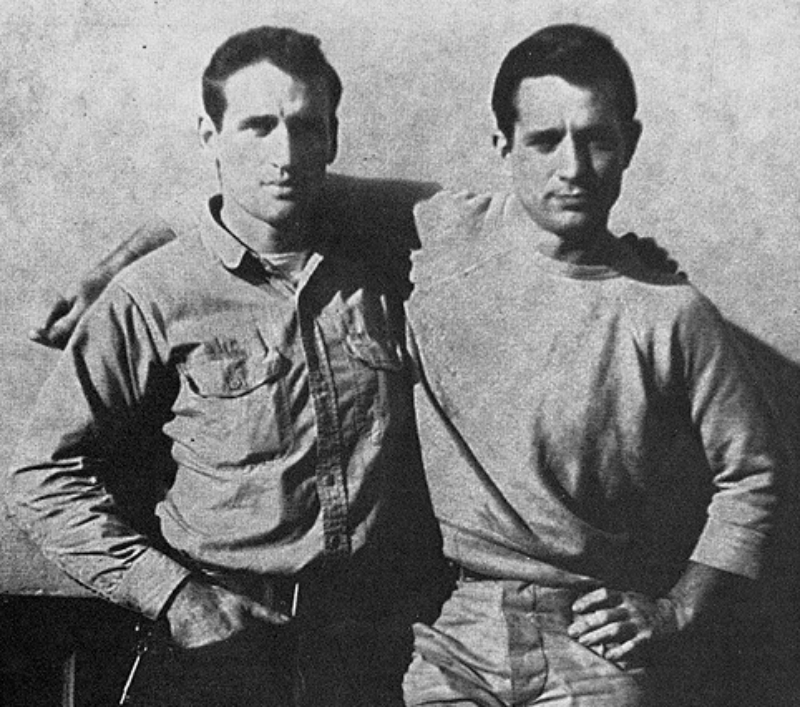 Kerouac, Ginsberg, and Burroughs -