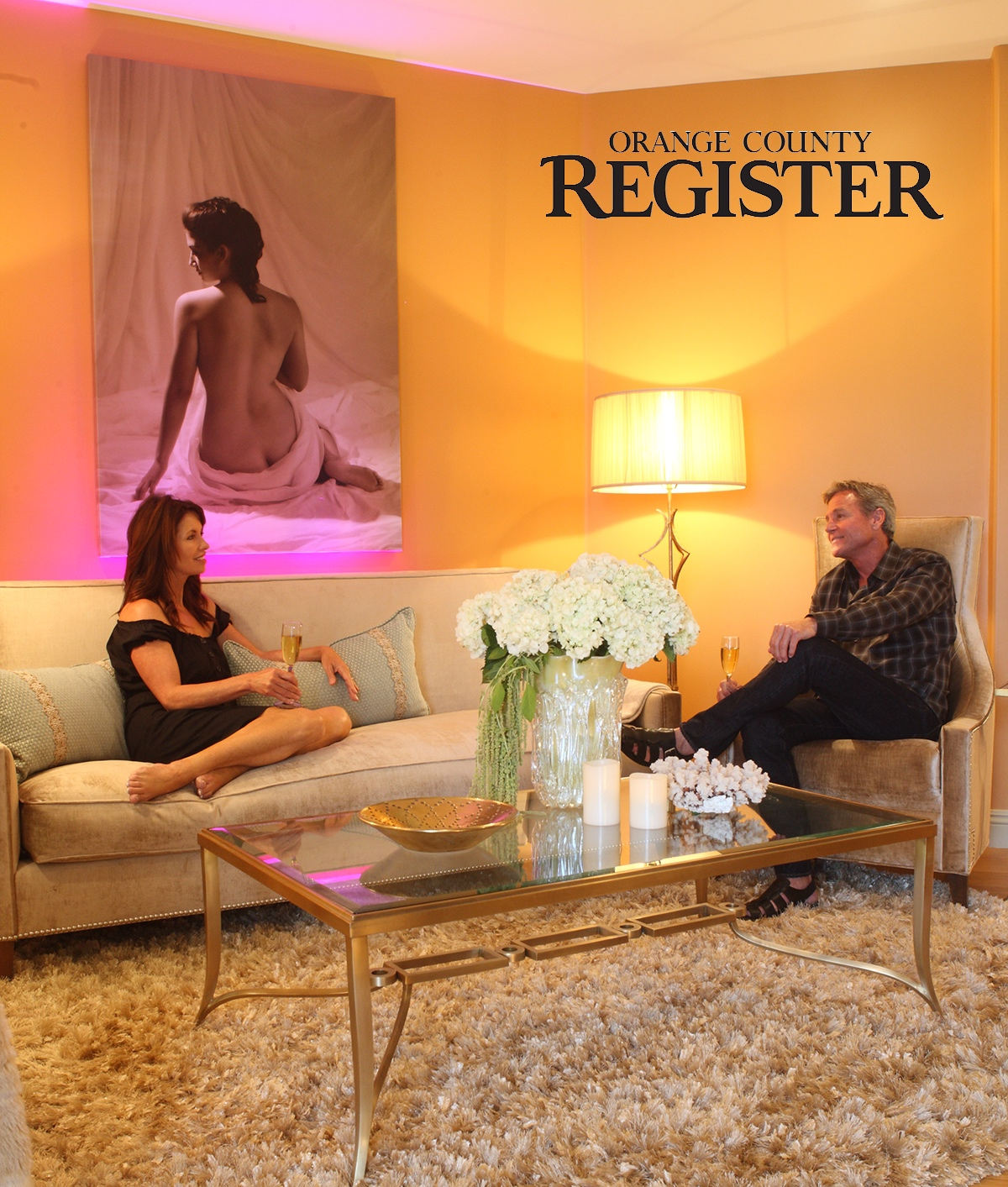 COUPLES' SERENE RETREAT: Luxury and style combine with healing modalities in a unique interior.   Read Article