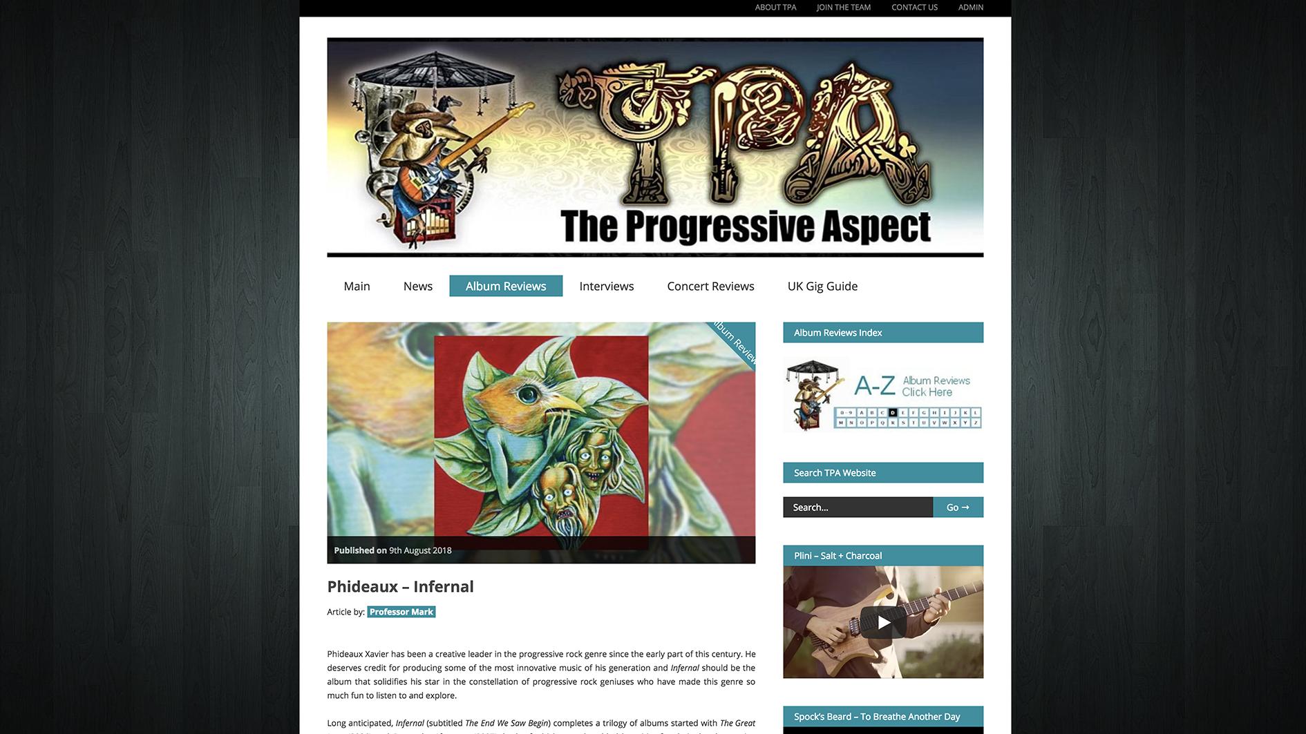 The Progressive Aspect