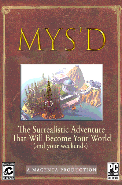 MYS'D - MYS'D parodies the popular PC game franchise, MYST. Student Colby Burks, looking for some separation from his schoolwork, finds a mysterious game at a garage sale.