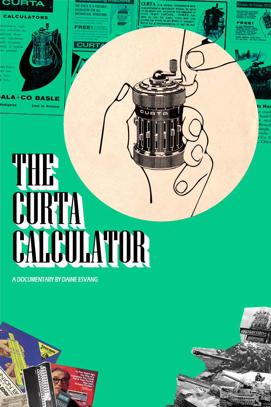 The Curta Calculator - This film is a Third Place Winner in the 2019 National History Day - State Competition (Kansas).The astonishing and unexpected history of the first and only pocket mechanical calculator, which marked the beginning of the personal computer industry.I created this film for the 2019 National History Day contest. It won first place in the district, and third in the state competition.