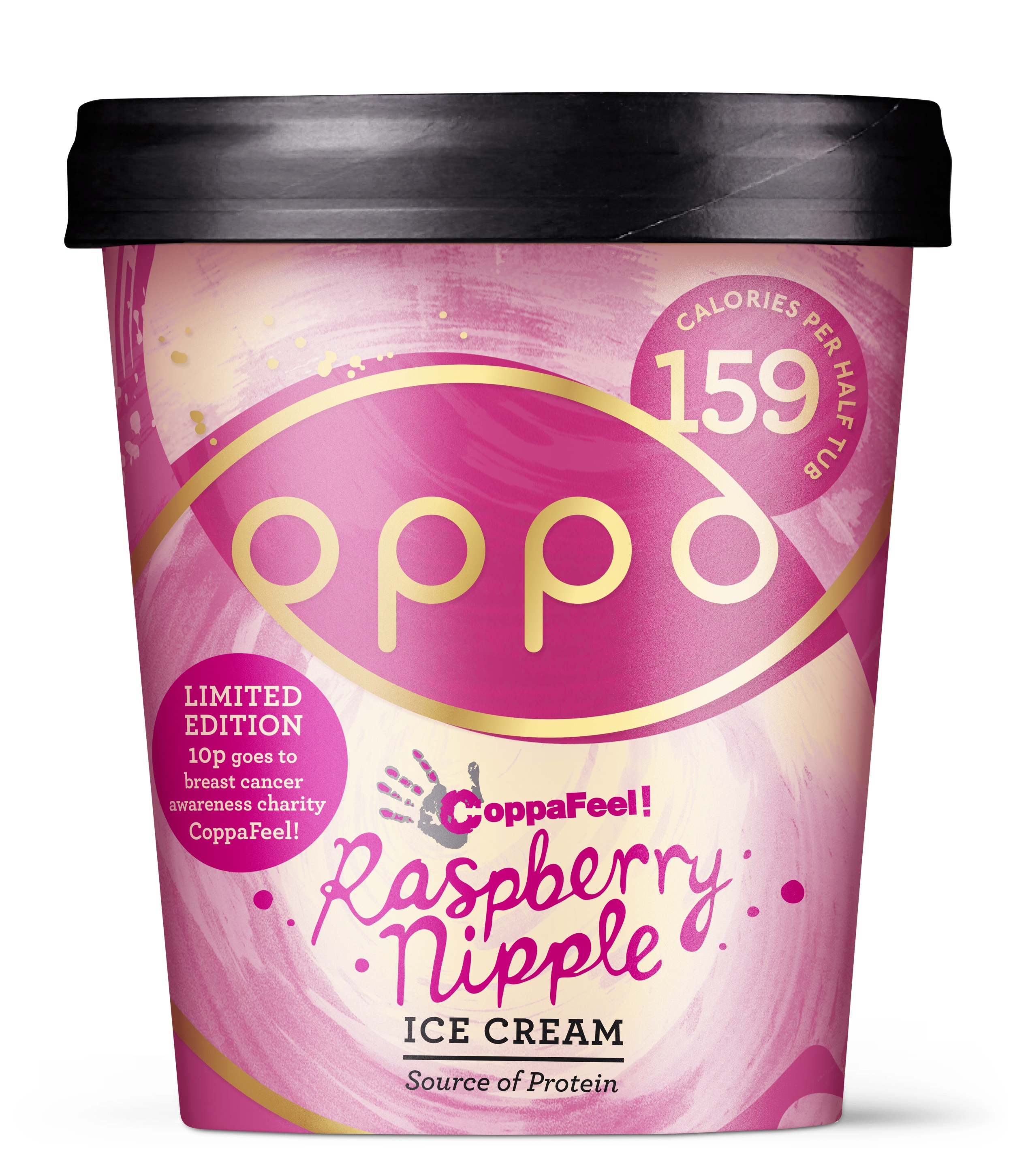 Oppo Raspberry Nipple Low Calorie