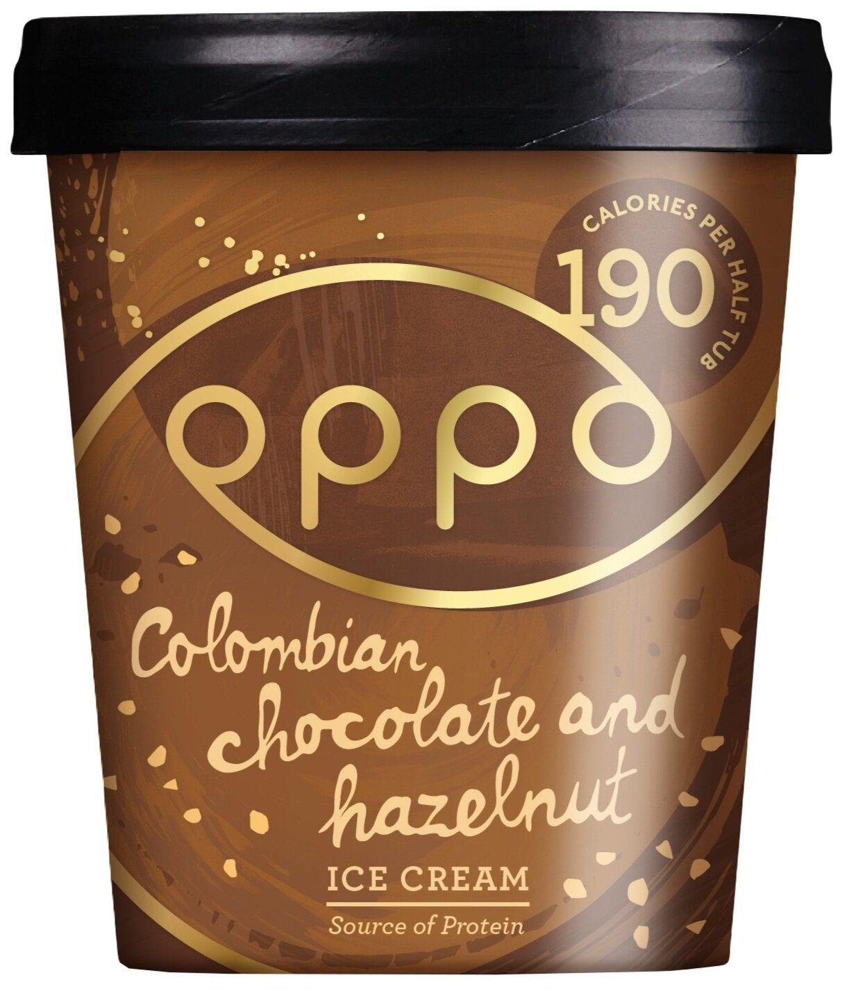 Oppo Colombian chocolate and hazelnut