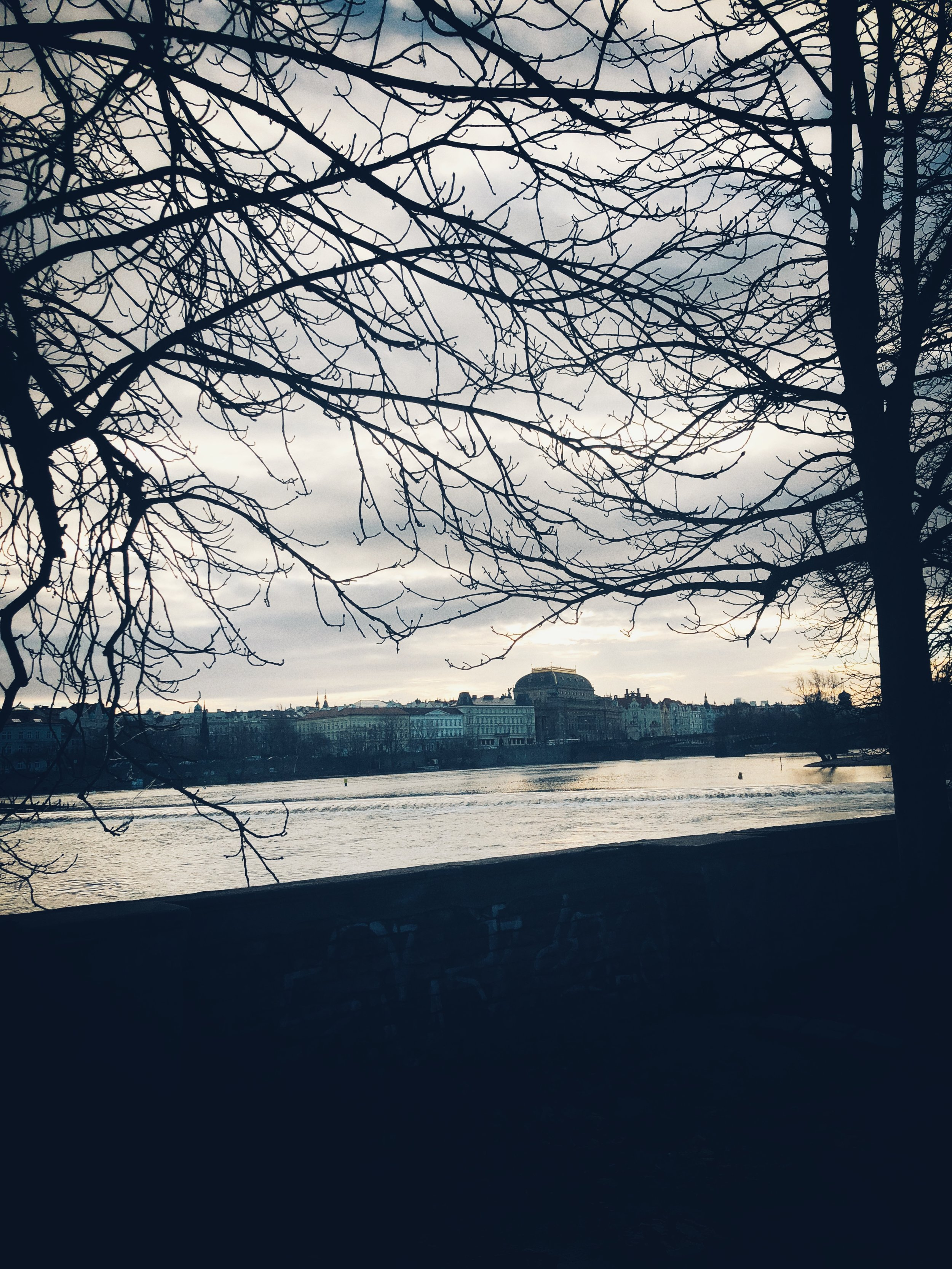 vltava and national theater