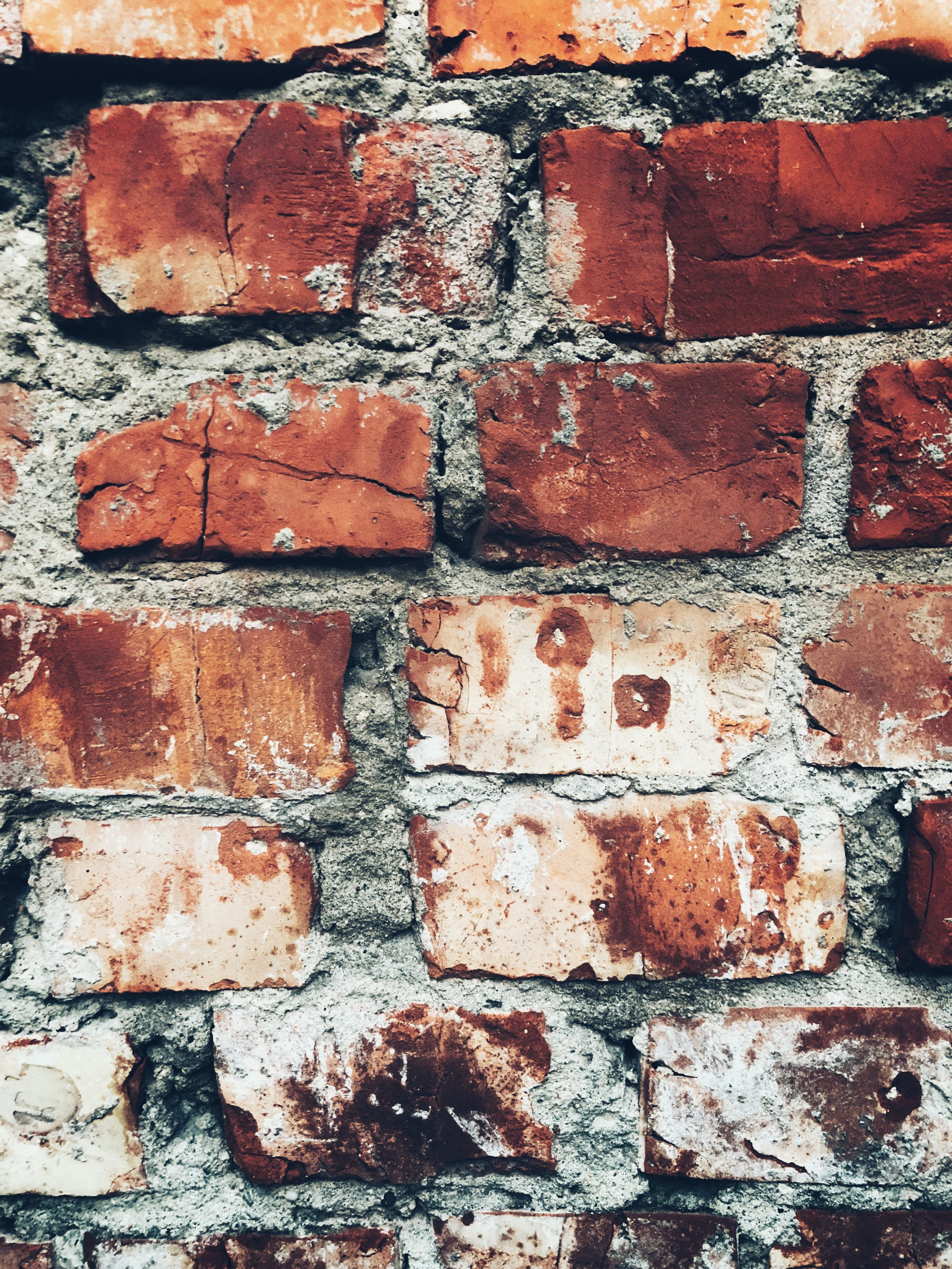 ghetto wall, detail