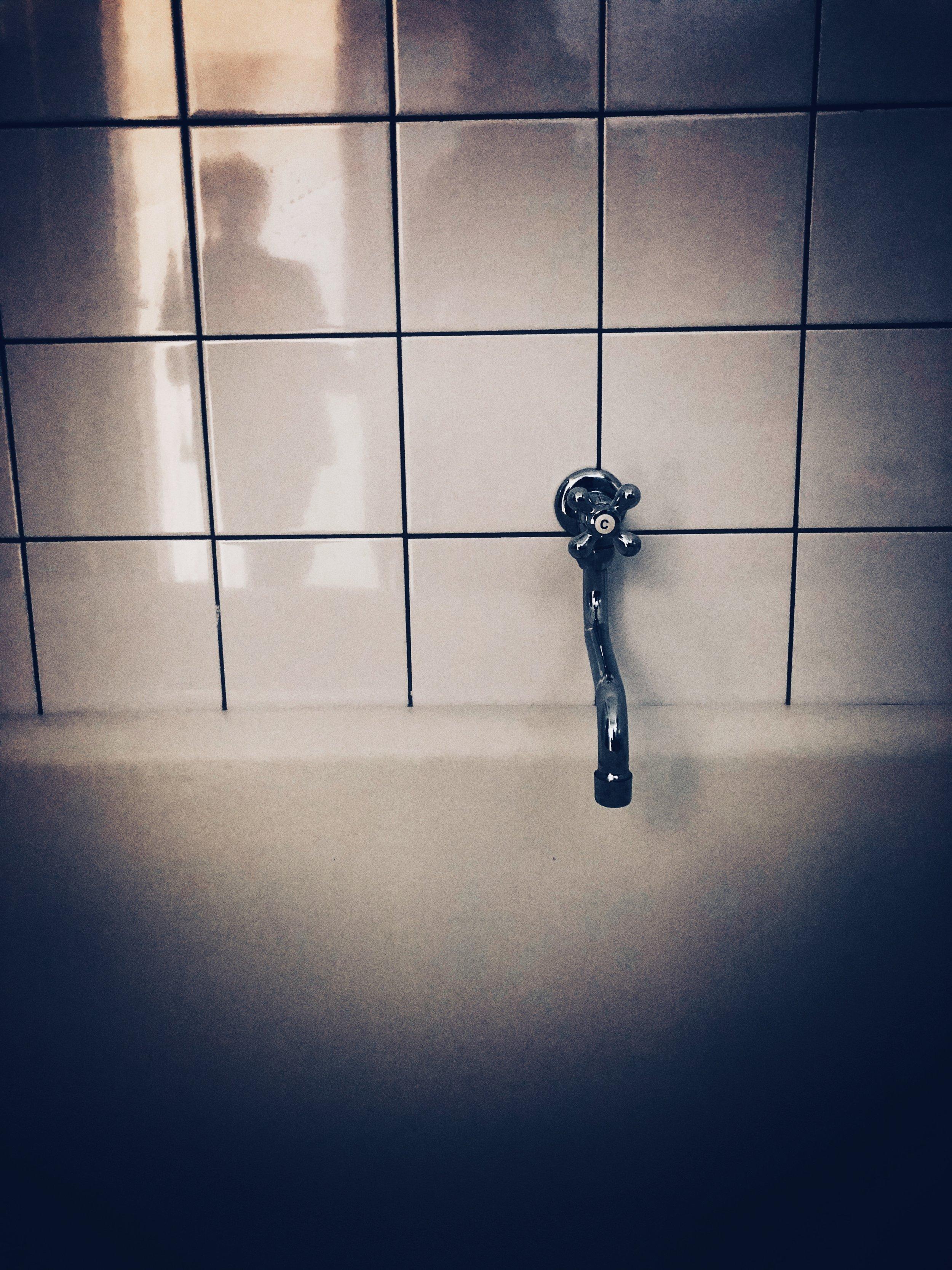 original bathroom - new lidice museum