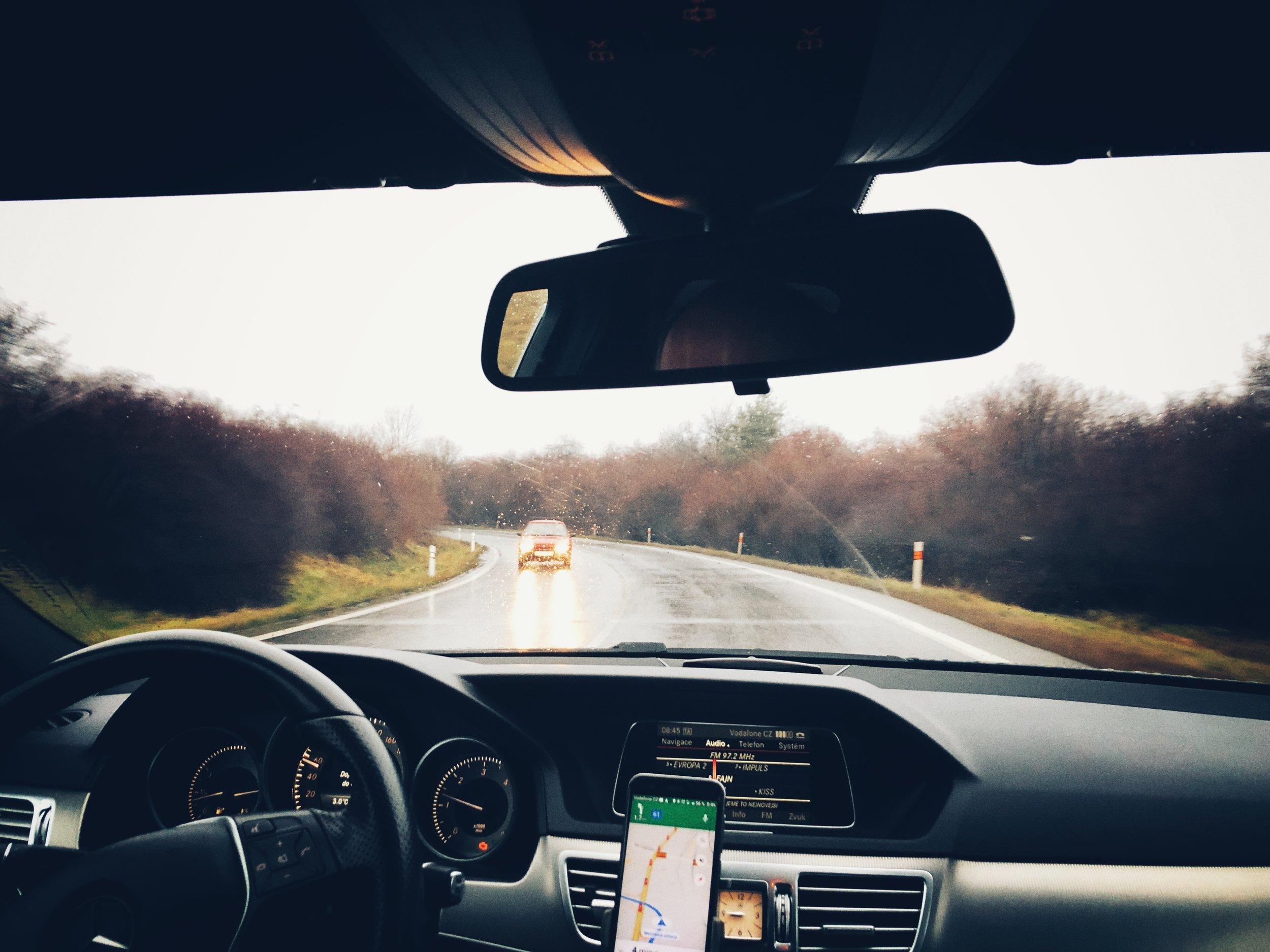 en route to lidice