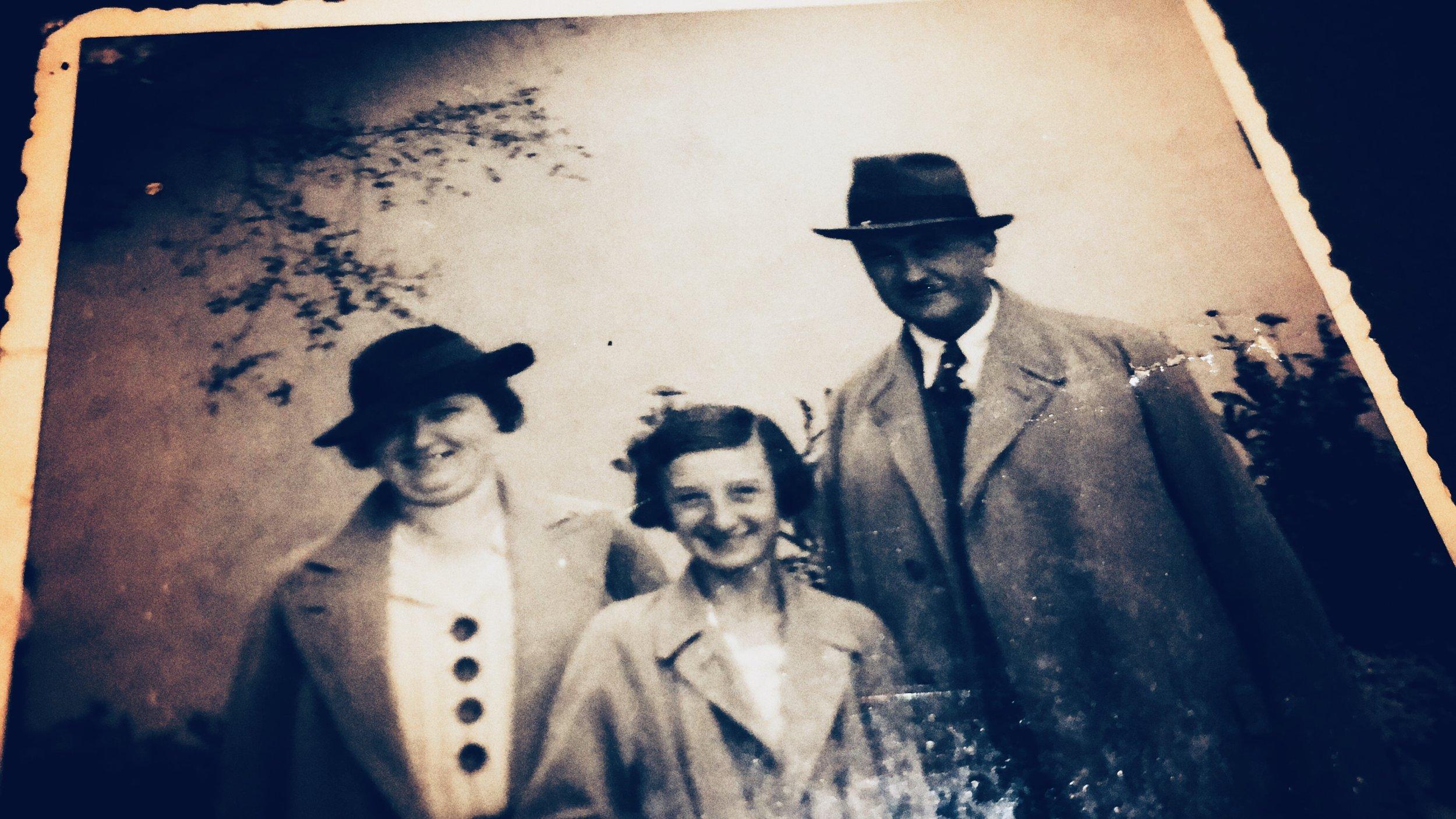 mother, miloslava, father (murdered)