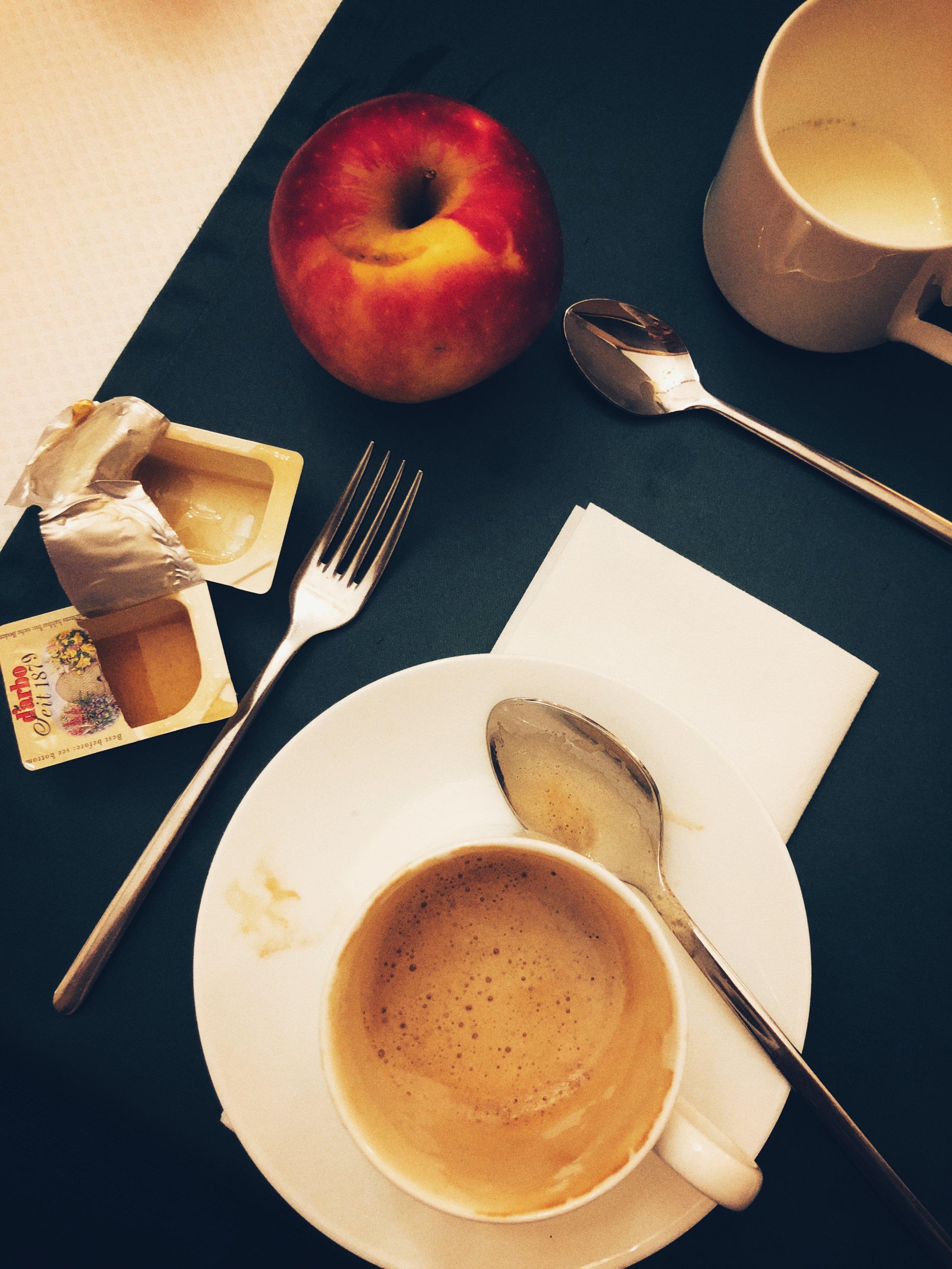 cafe mit honig, bitte