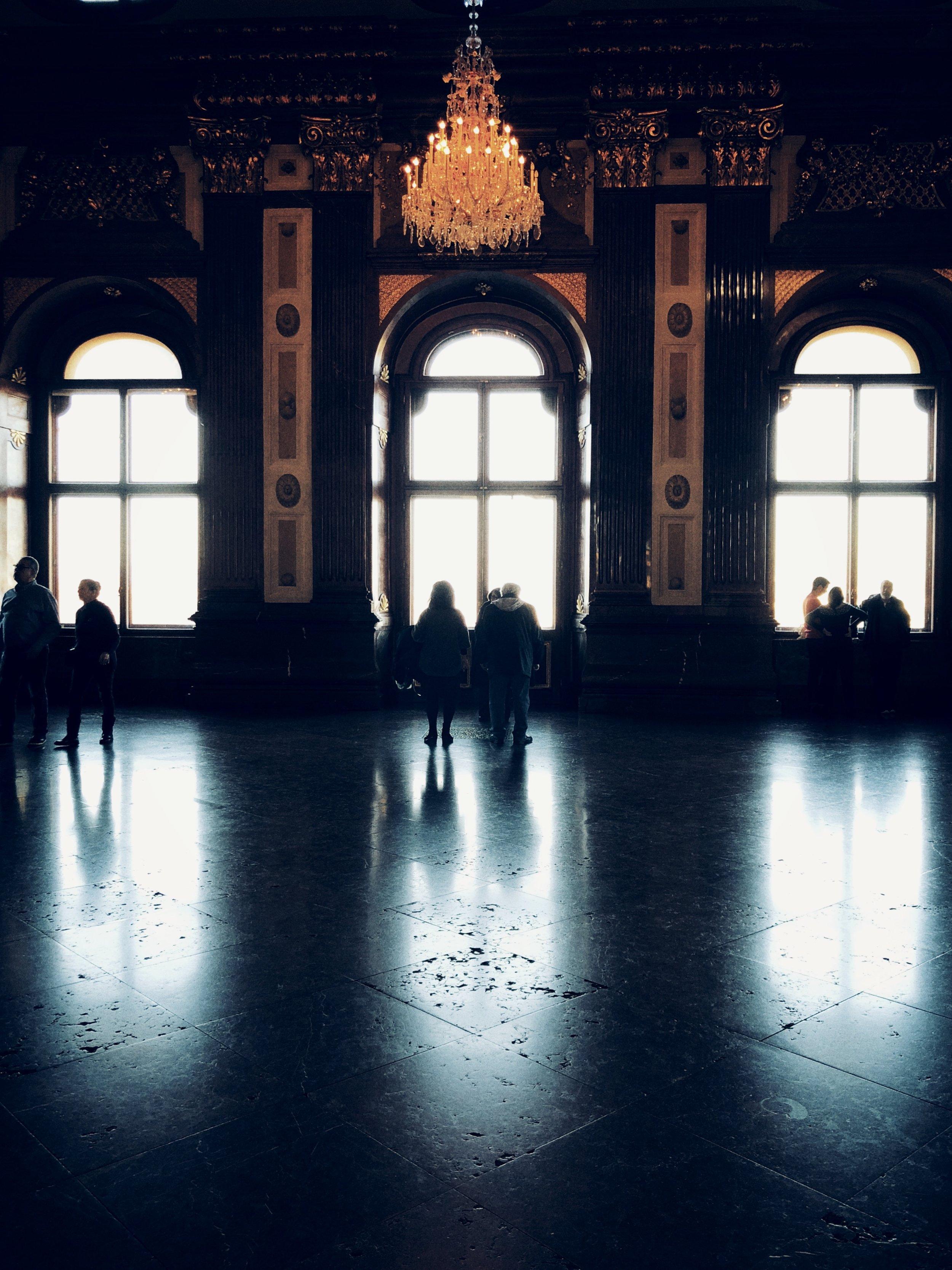 belvedere, interior