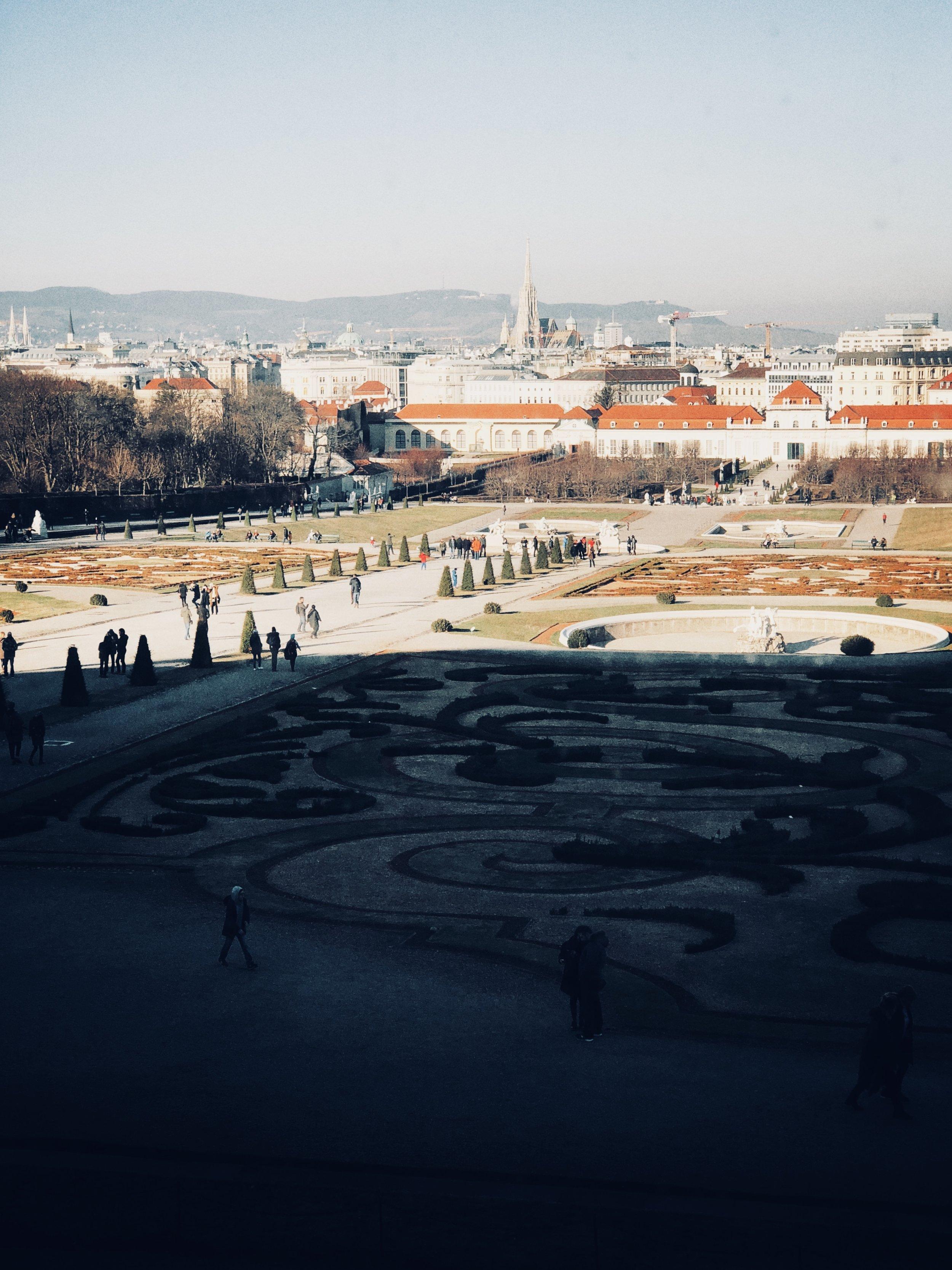 belvedere, exterior