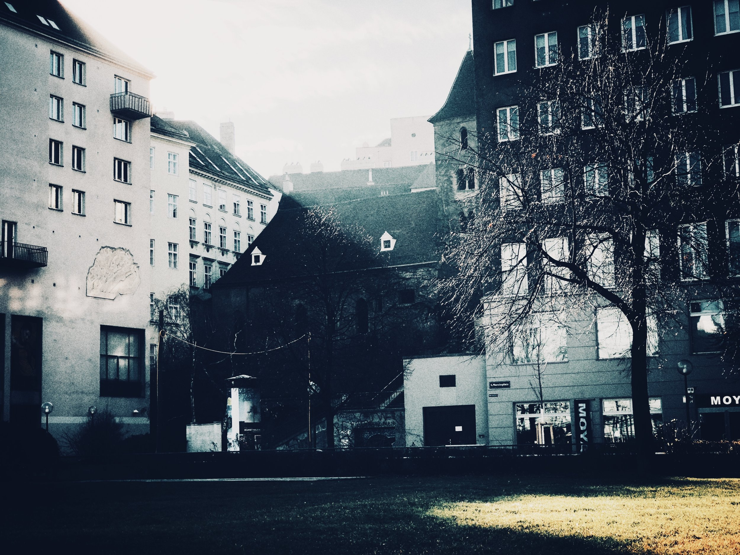 morzinzplatz, christmas morning