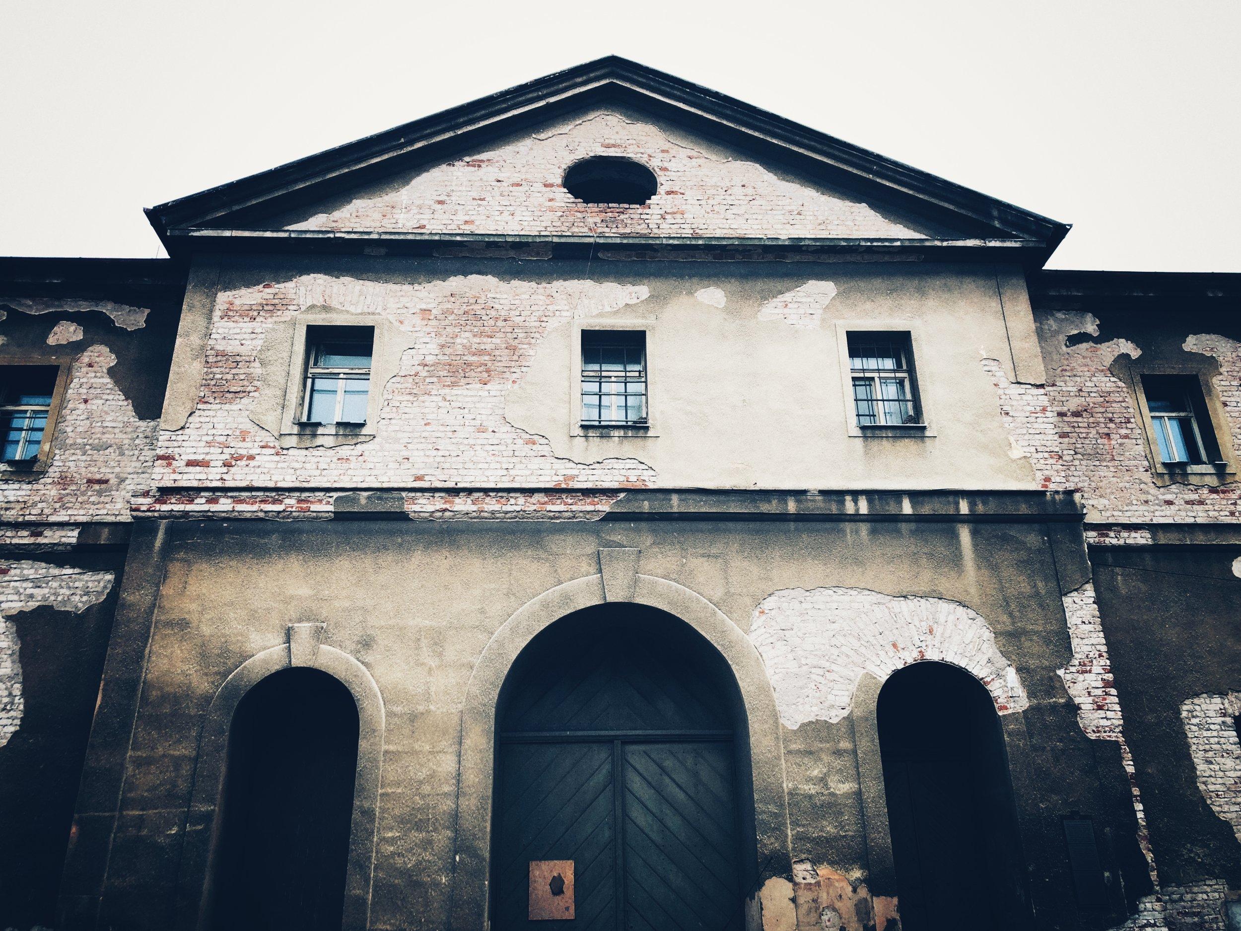 prisoner's barracks
