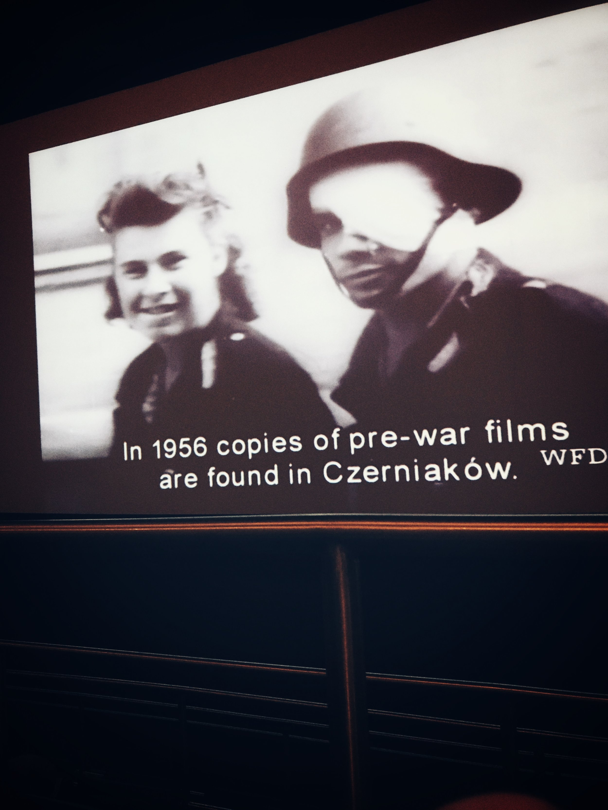 footage in the warsaw uprising museum