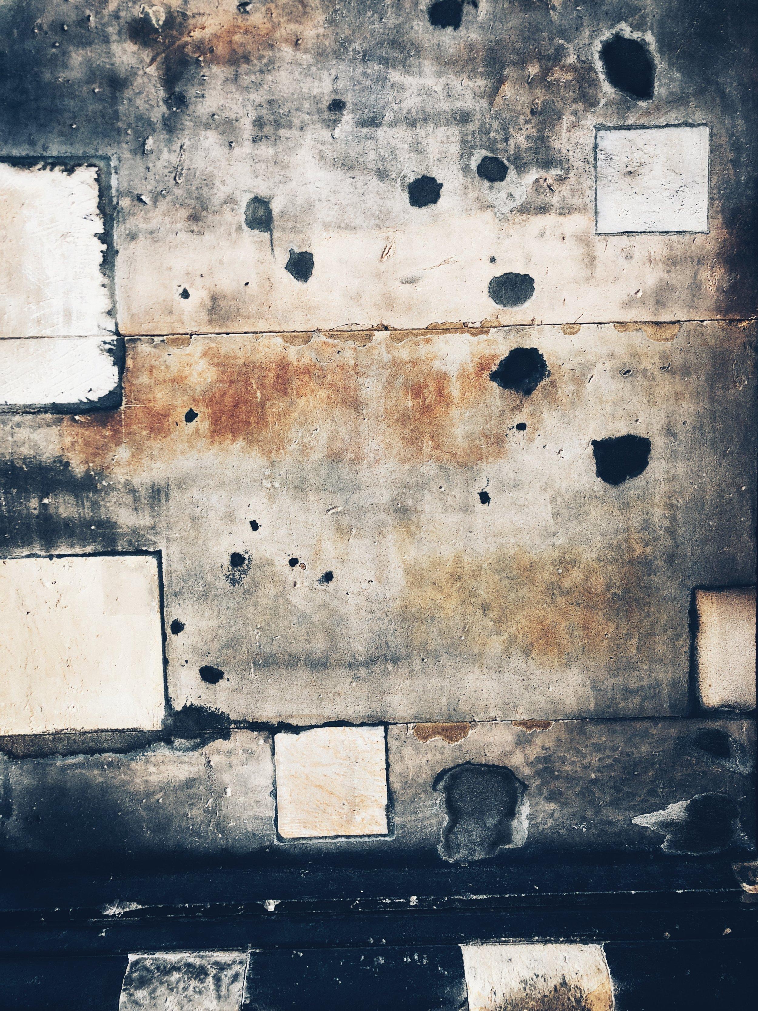 battle scars on museuminsel