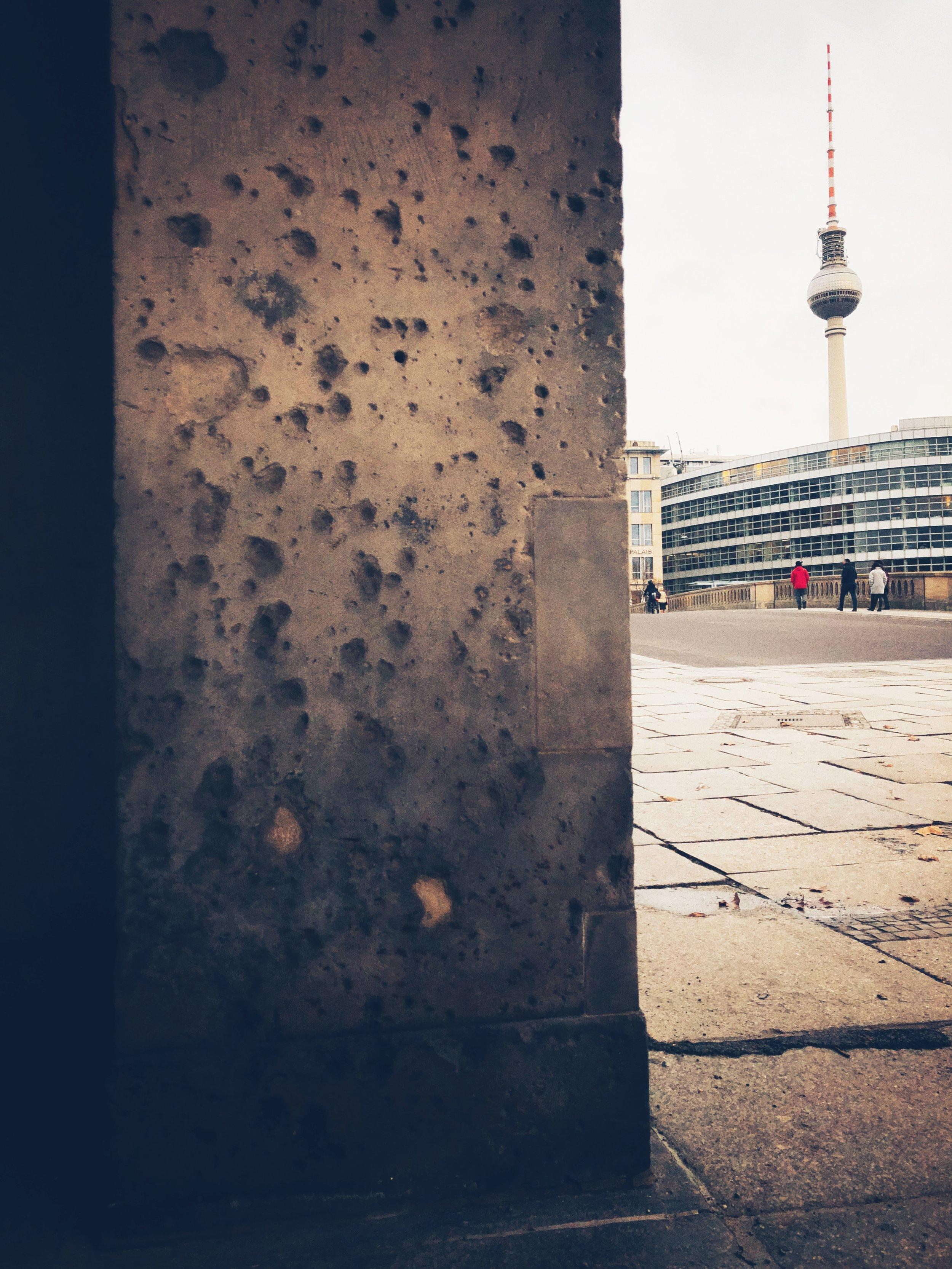 battle scars, museuminsel