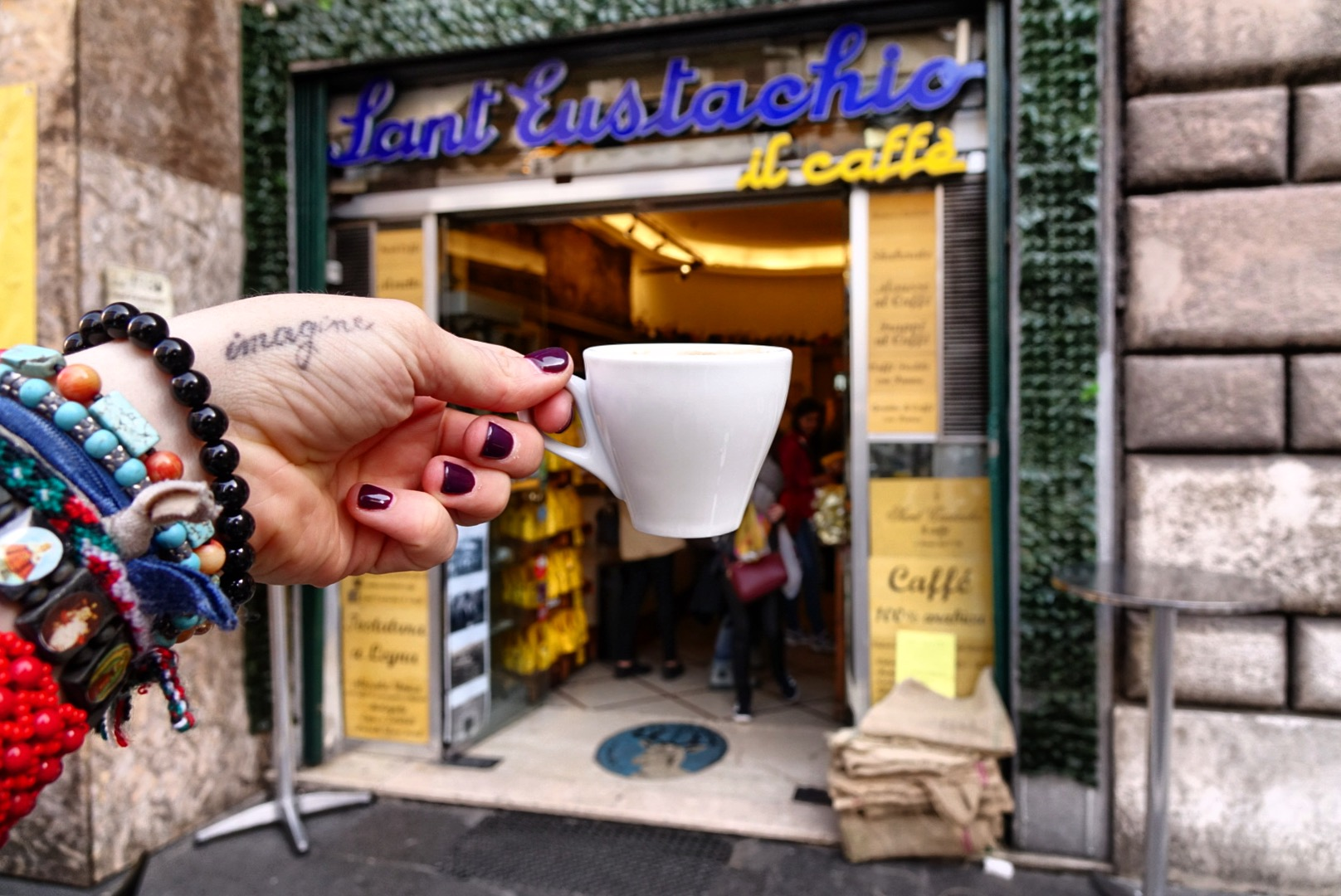 The Roman Guy is a tour company specializing in Italian Travel. Brandon's extensive knowledge of history and Italian coffee culture, was the perfect fit for filming in Rome. -