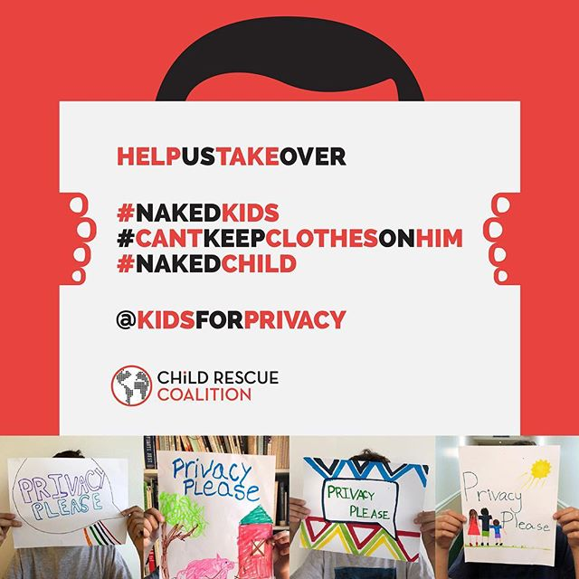 Create your Privacy Please sign and share it using a hashtag that make kids vulnerable to pedophiles. Follow @childrescuecoalition and help us to protect children's innocence  #nakedkids #cantkeepclothesonhim #nakedchild  #kidsforprivacy #childrescuecoalition #privacyplease