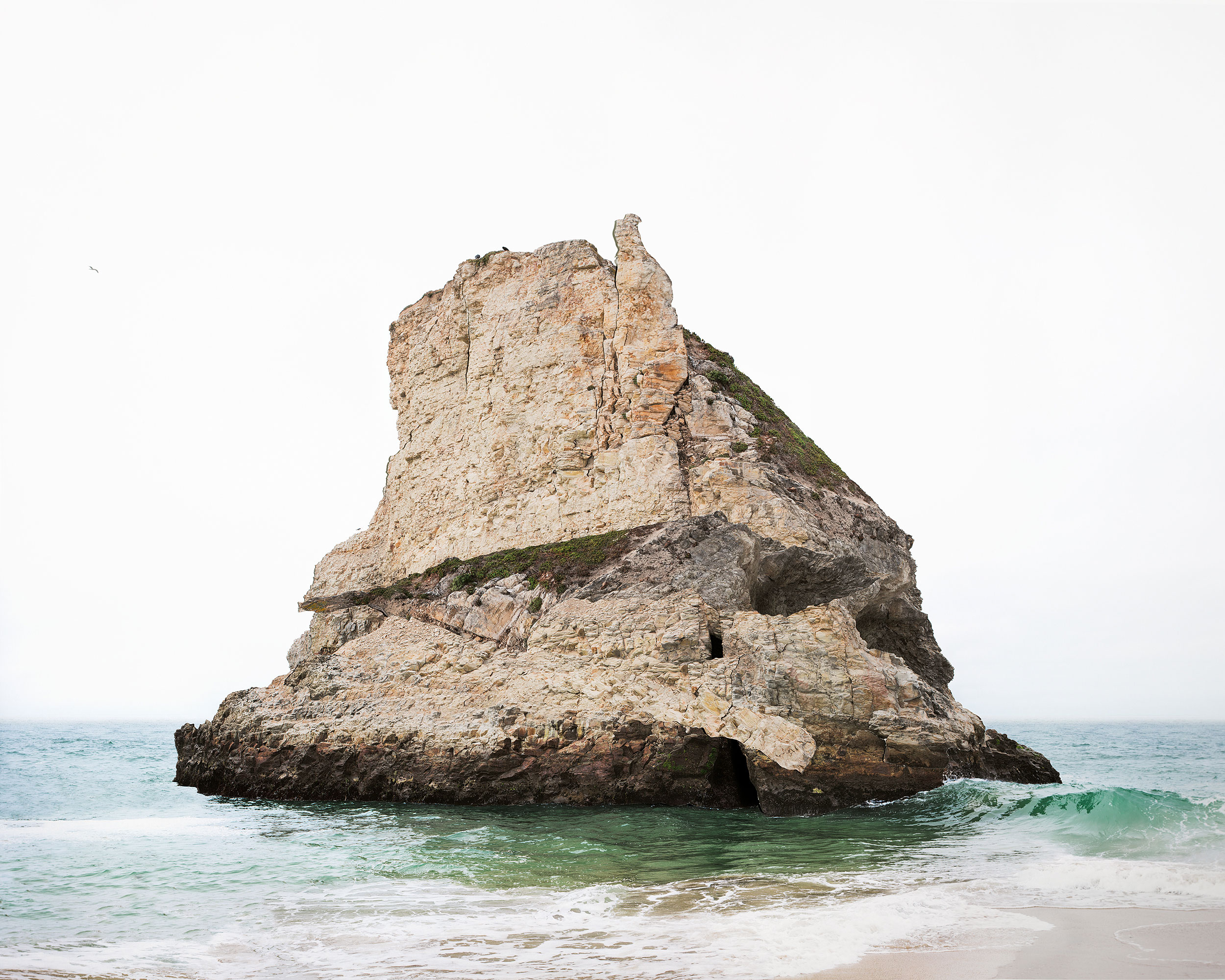 Laura Plageman,  Response to Print of Davenport Island, California , 2014  Digital pigment print, 40 x 50 in, edition of 4; 20 x 25 in, edition of 5   Inquire