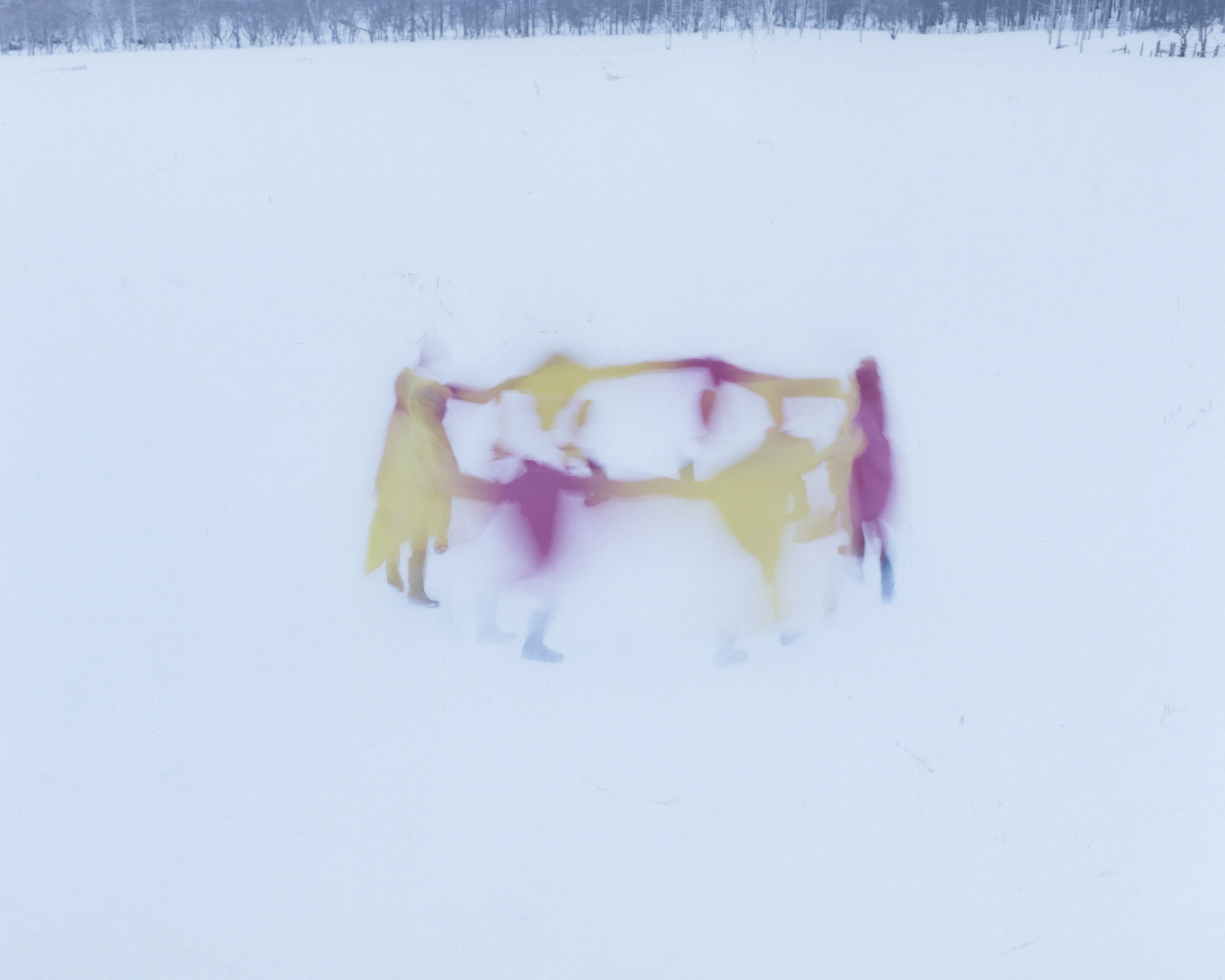 Osamu Yokonami,  Assembly Snow 2 , 2015  Digital pigment print, 944 x 1159 mm (approx. 37 x 46 in), edition of 3; 554 x 680 mm (approx. 22 x 27 in), edition of 7  Special edition: 267 x 330 mm (10.5 x 13 in), edition of 10   Inquire