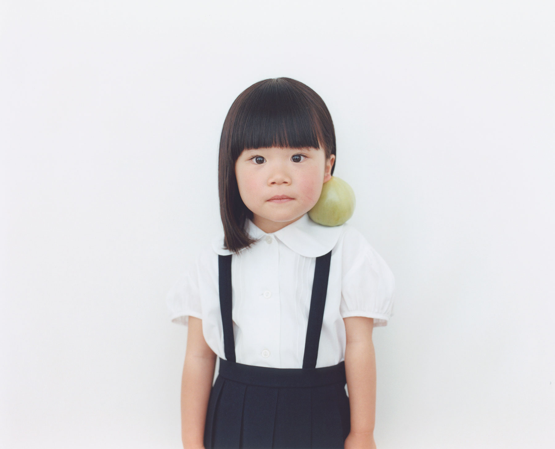 Osamu Yokonami,  1000 Children: Green Tomato No. 54 , 2010-2013  Digital pigment print, 895 x 1105 mm (approx. 35 x 43.5 in), edition of 5; 146 x 168 mm (approx. 5.75 x 6.6 in), edition of 10   Inquire