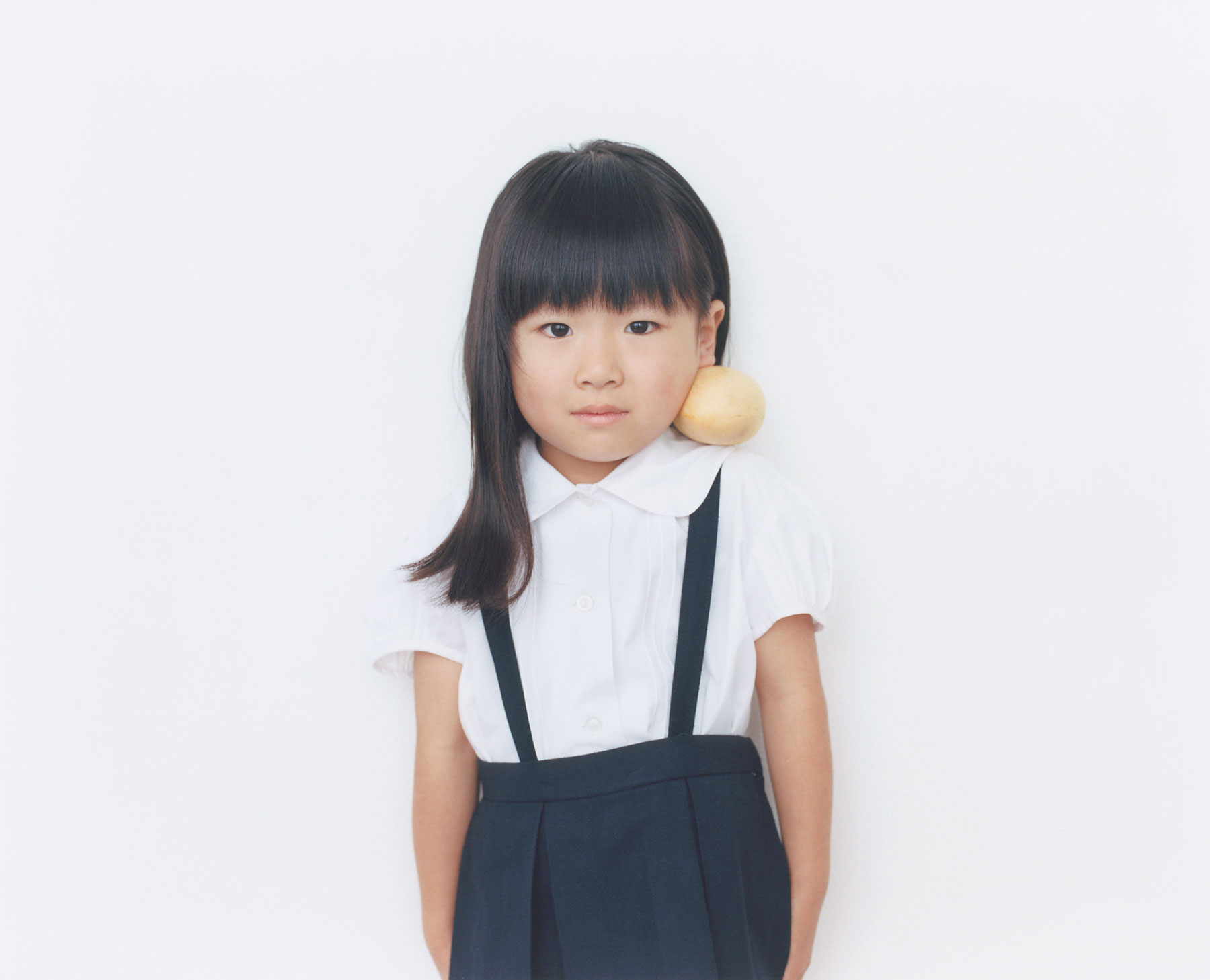 Osamu Yokonami,  1000 Children: Mango No. 2 , 2010-2013  Digital pigment print, 895 x 1105 mm (approx. 35 x 43.5 in), edition of 5; 146 x 168 mm (approx. 5.75 x 6.6 in), edition of 10   Inquire