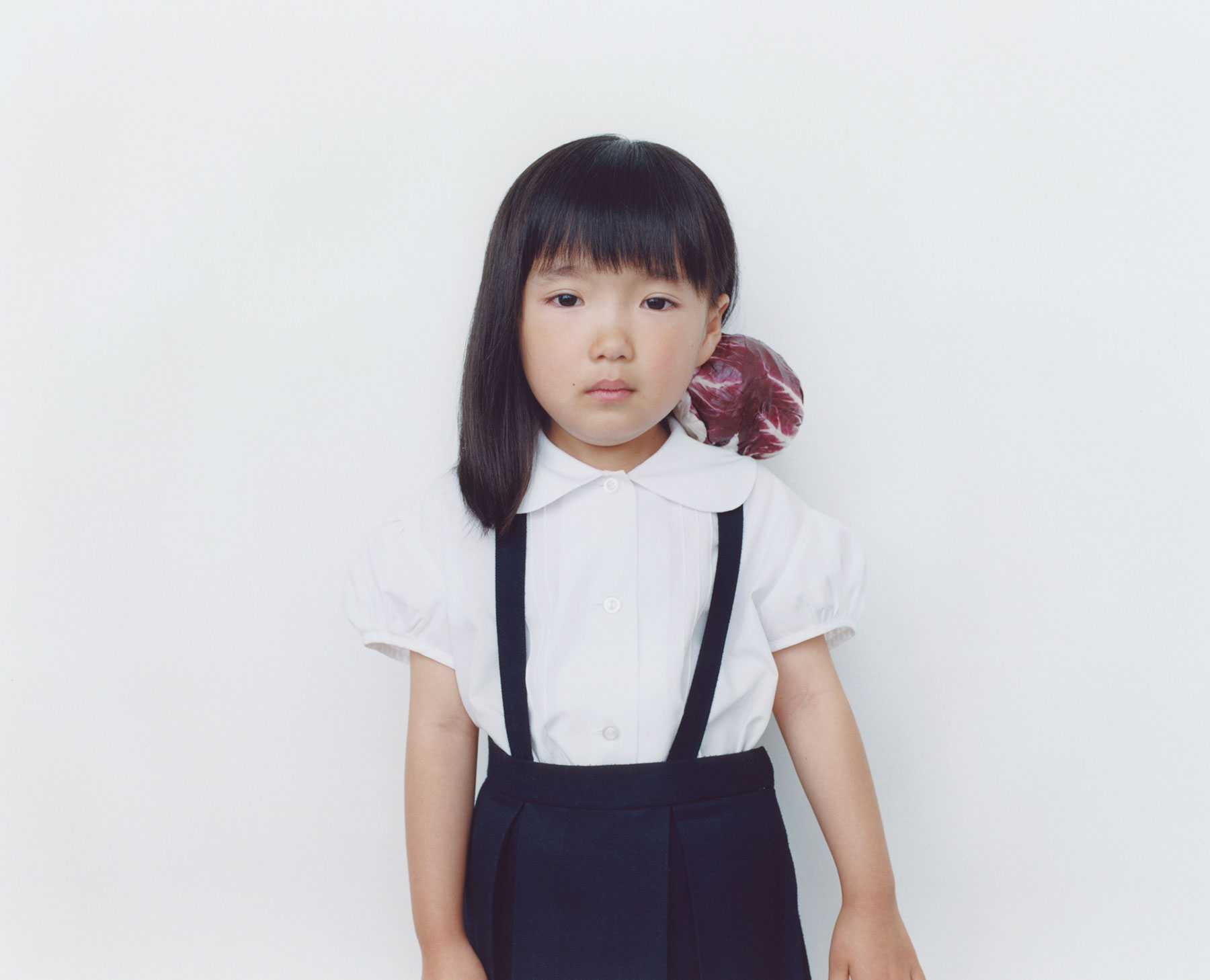 Osamu Yokonami,  1000 Children: Purple Cabbage No. 76 , 2010-2013  Digital pigment print, 895 x 1105 mm (approx. 35 x 43.5 in), edition of 5; 146 x 168 mm (approx. 5.75 x 6.6 in), edition of 10   Inquire