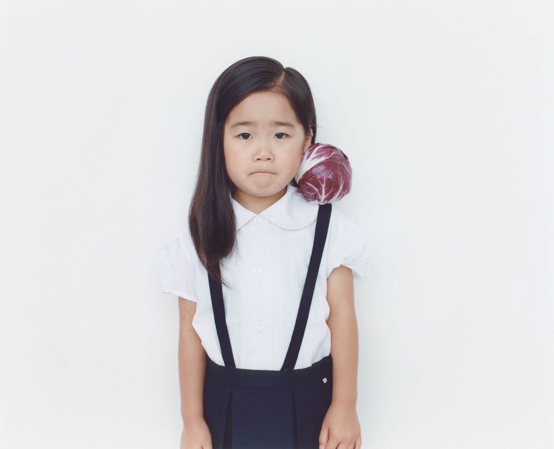 Osamu Yokonami,  1000 Children: Purple Cabbage No. 80 , 2010-2013  Digital pigment print, 895 x 1105 mm (approx. 35 x 43.5 in), edition of 5; 146 x 168 mm (approx. 5.75 x 6.6 in), edition of 10   Inquire