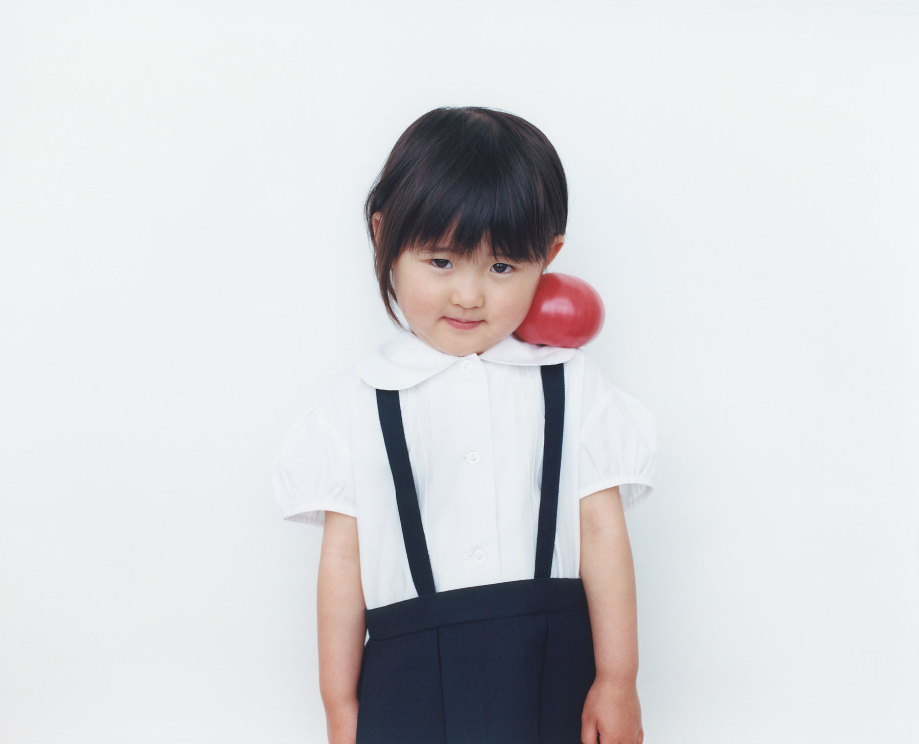 Osamu Yokonami,  1000 Children: Red Tomato No. 6 , 2010-2013  Digital pigment print, 895 x 1105 mm (approx. 35 x 43.5 in), edition of 5; 146 x 168 mm (approx. 5.75 x 6.6 in), edition of 10   Inquire