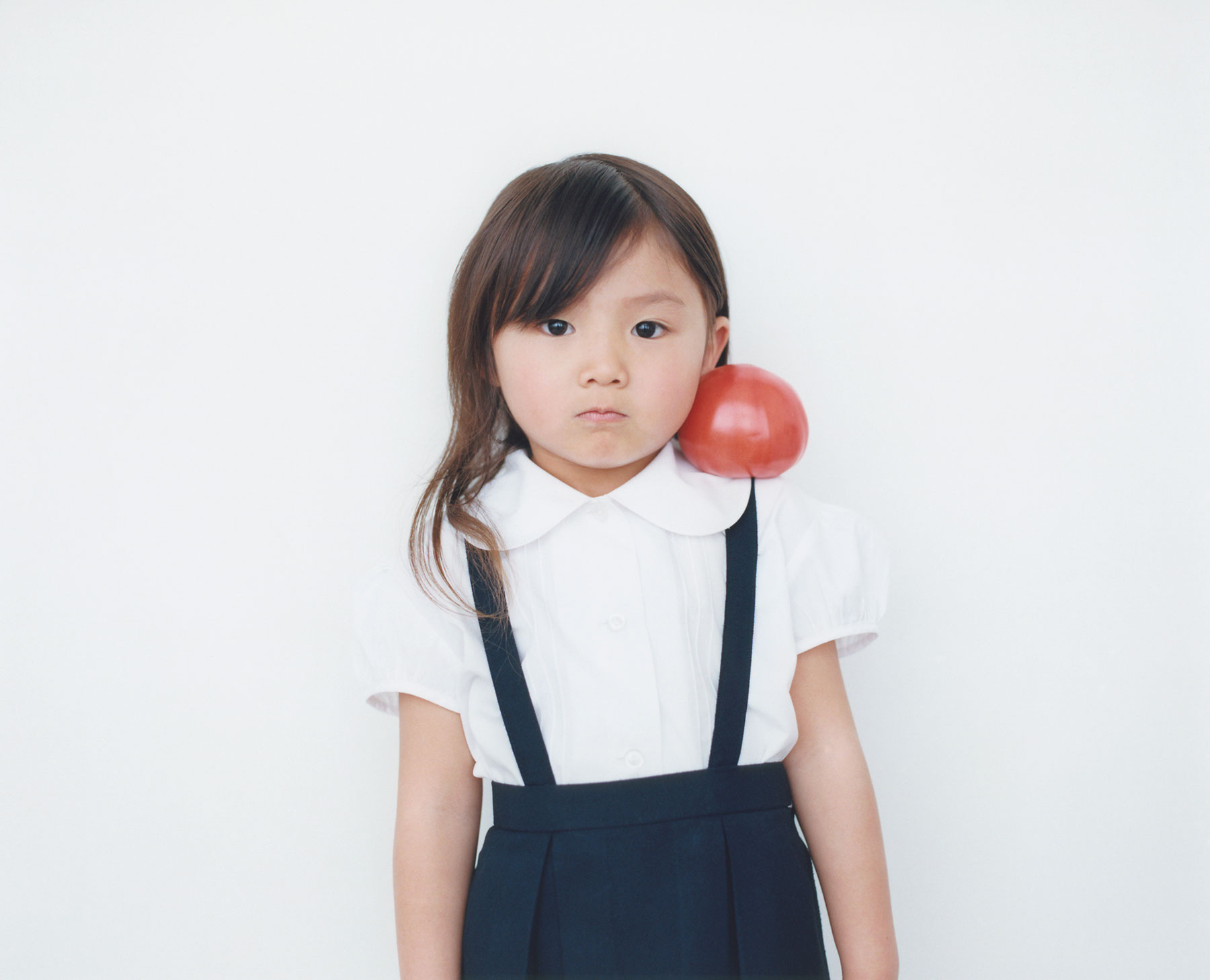 Osamu Yokonami,  1000 Children: Red Tomato No. 9 , 2010-2013  Digital pigment print, 895 x 1105 mm (approx. 35 x 43.5 in), edition of 5; 146 x 168 mm (approx. 5.75 x 6.6 in), edition of 10   Inquire